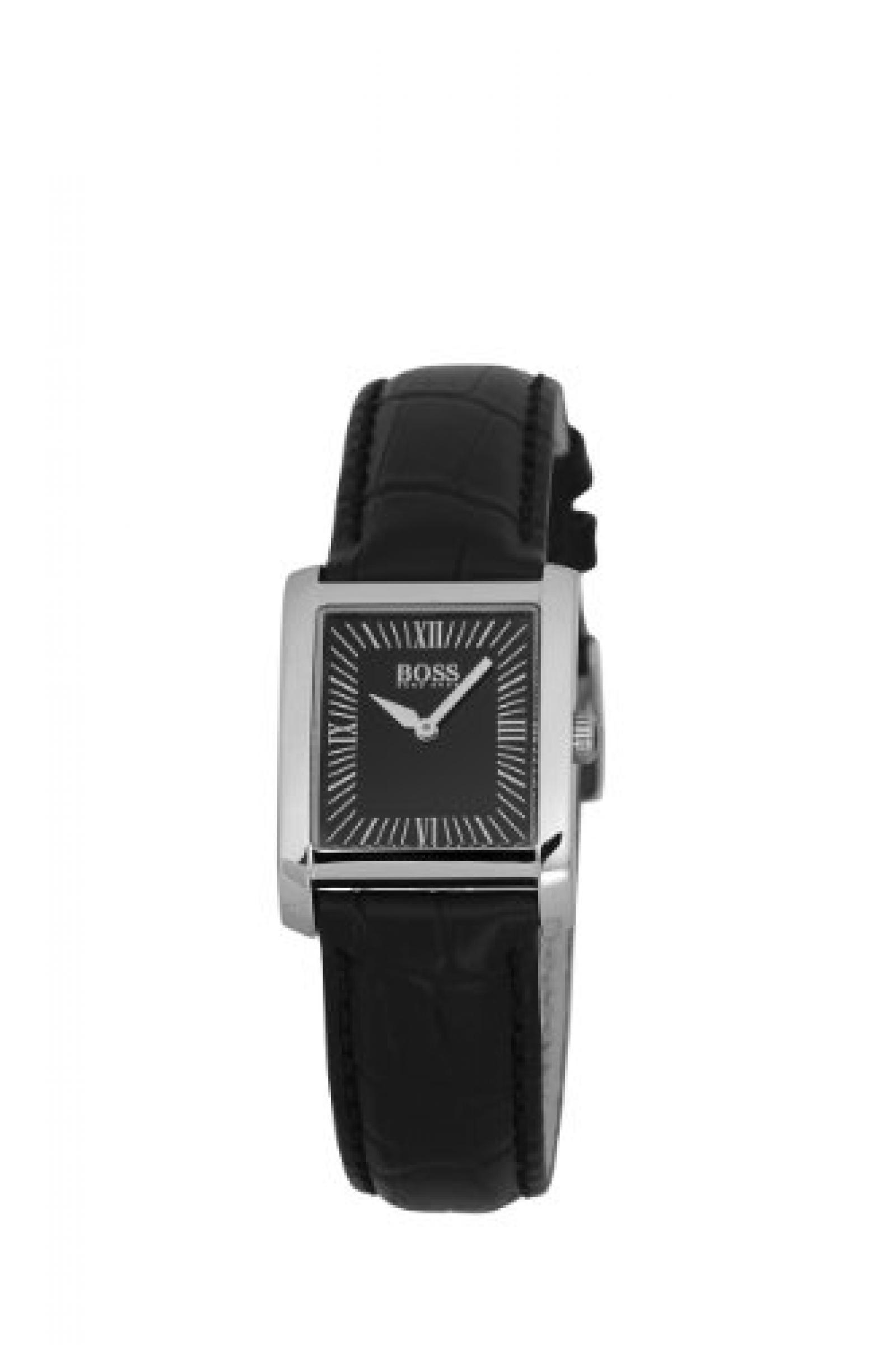 Hugo Boss Damen-Armbanduhr Ladies Classic Analog Leder 1502199