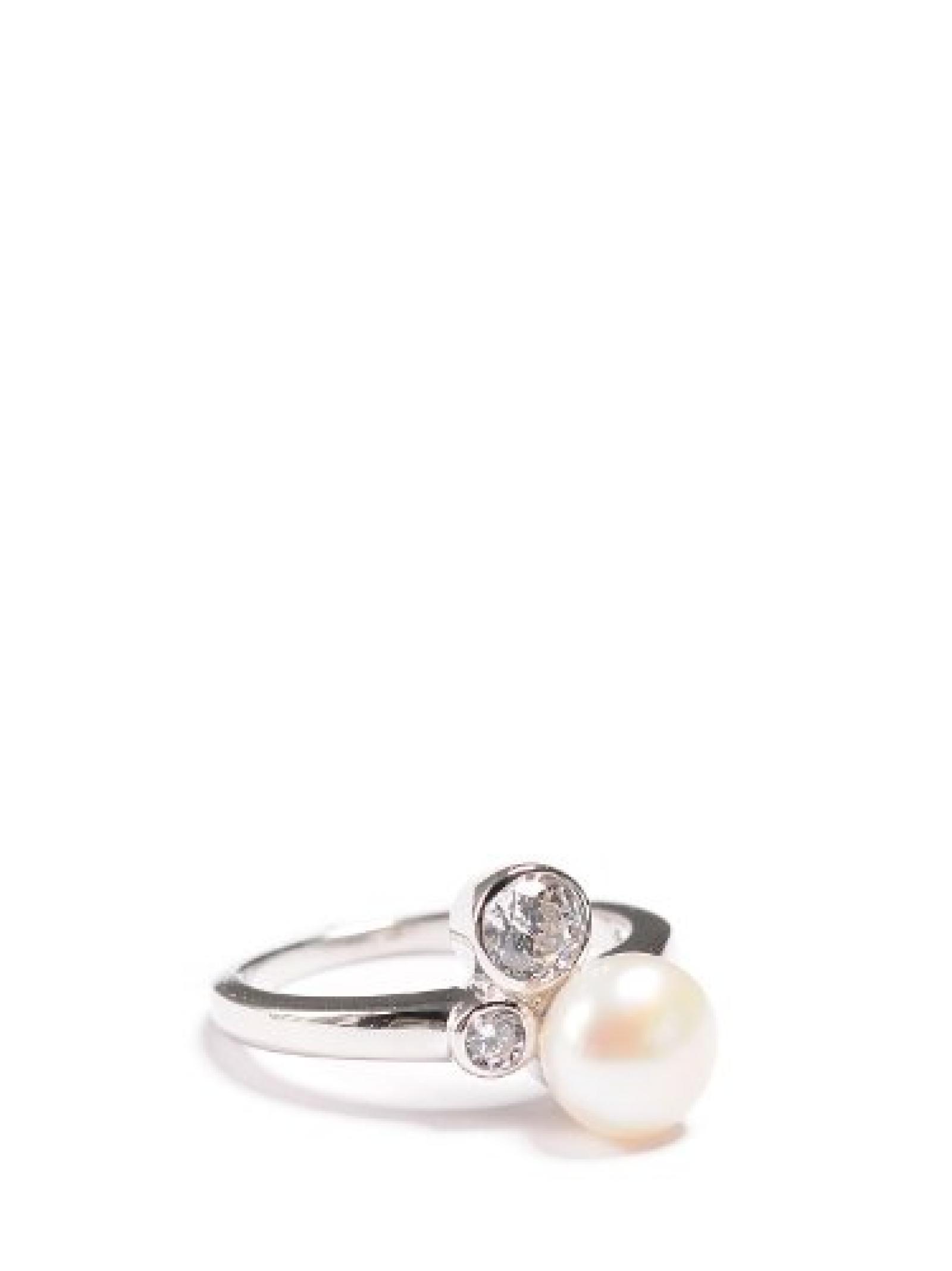 Valero Pearls Ring silber, 18,5