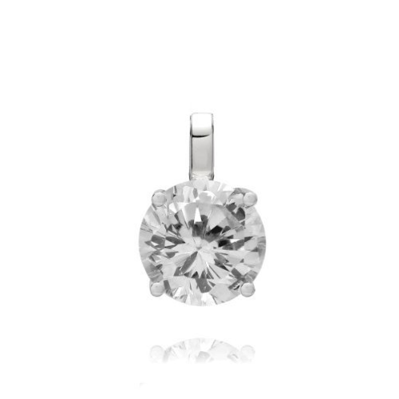 Rafaela Donata Damen-Anhänger Classic Collection 925 Sterling Silber Zirkonia weiß 60837056