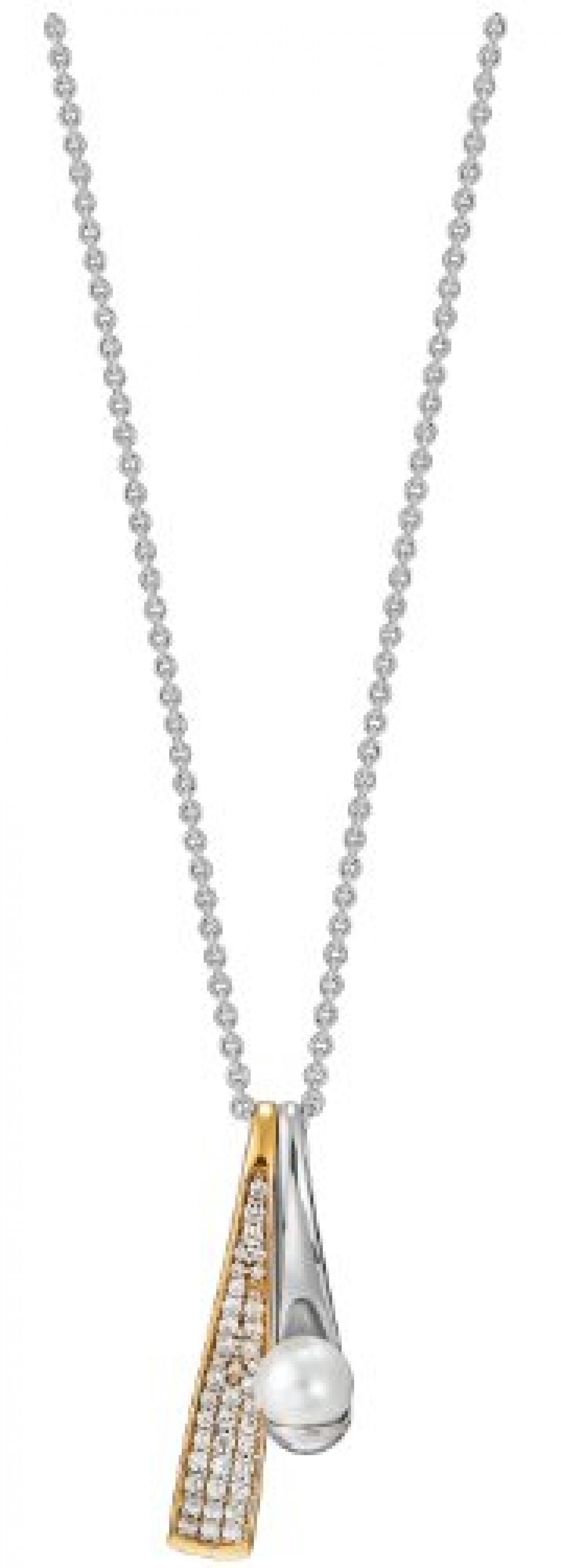 Pierre Cardin Damen-Kette Aurore 925 Sterling Silber 45 cm PCNL90433B420
