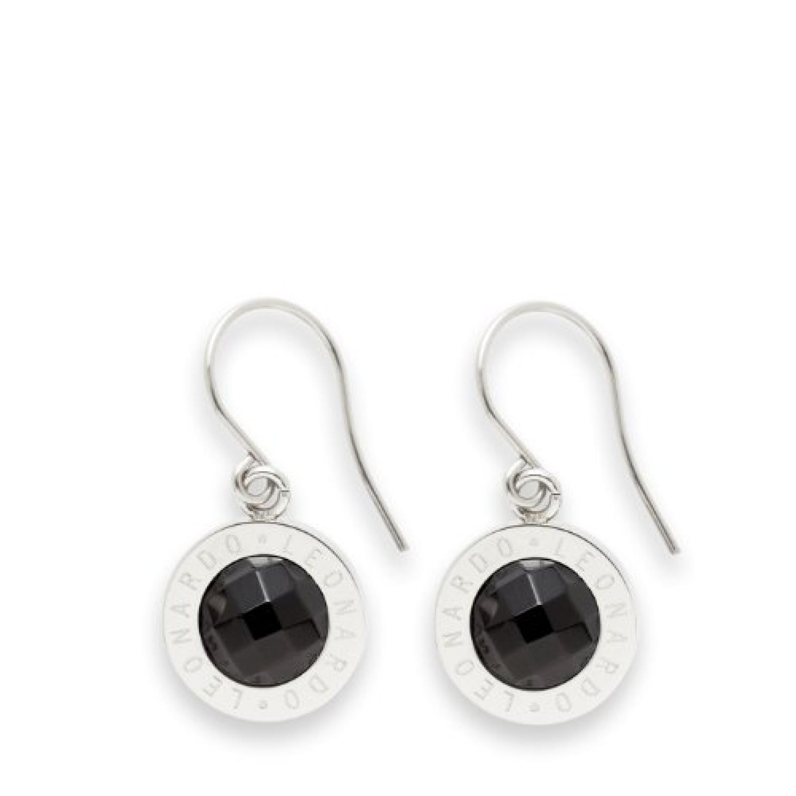 Leonardo Jewels Classic Damen-Ohrhänger schwarz Matrix 013943
