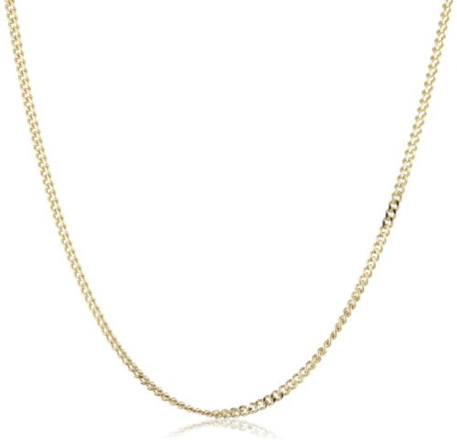 Amor Jewelry Unisex-Halskette 14 Karat 585 Gelbgold 74117