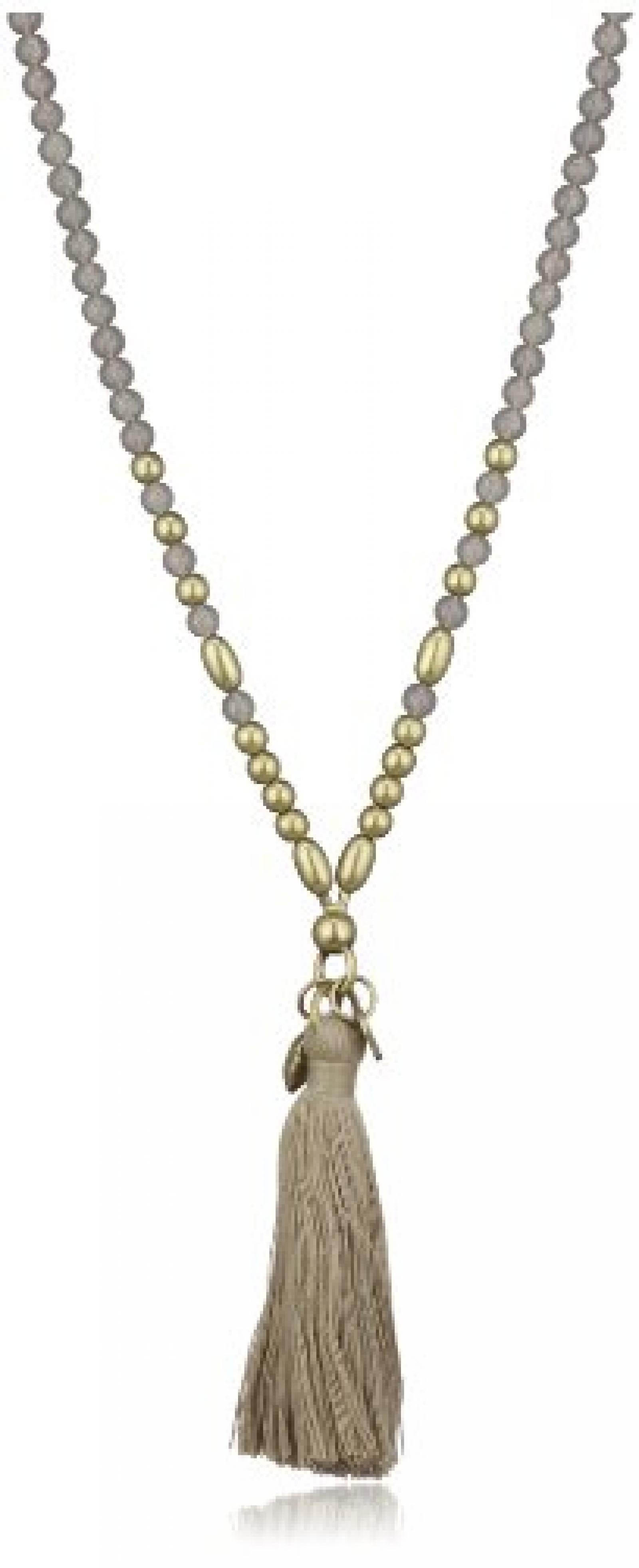 Dyrberg/Kern Damen-Halskette DIVILA AB GREY 90cm 331987