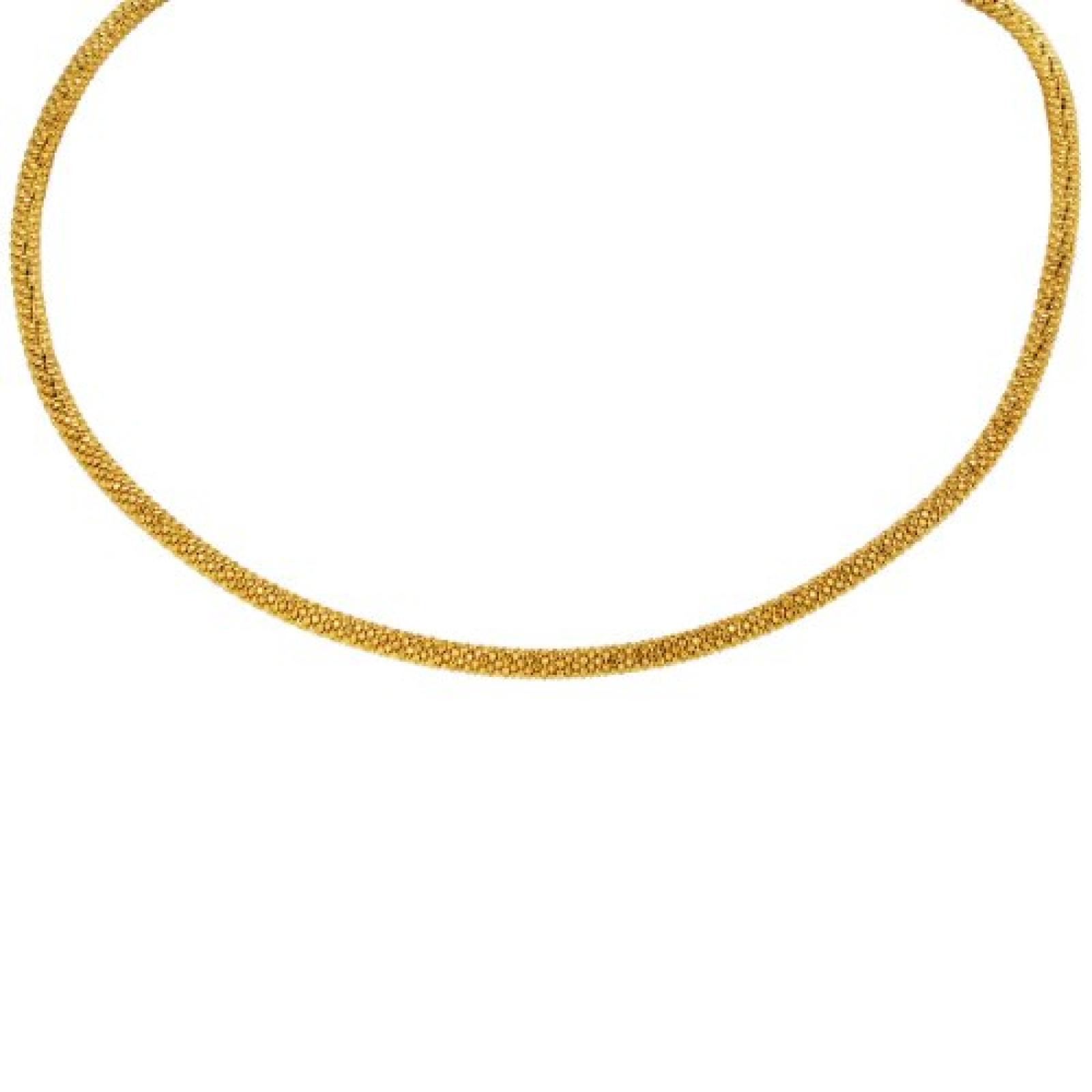 Bella Donna Damen Halskette 925 Sterling Silber 43.0 cm 61494309