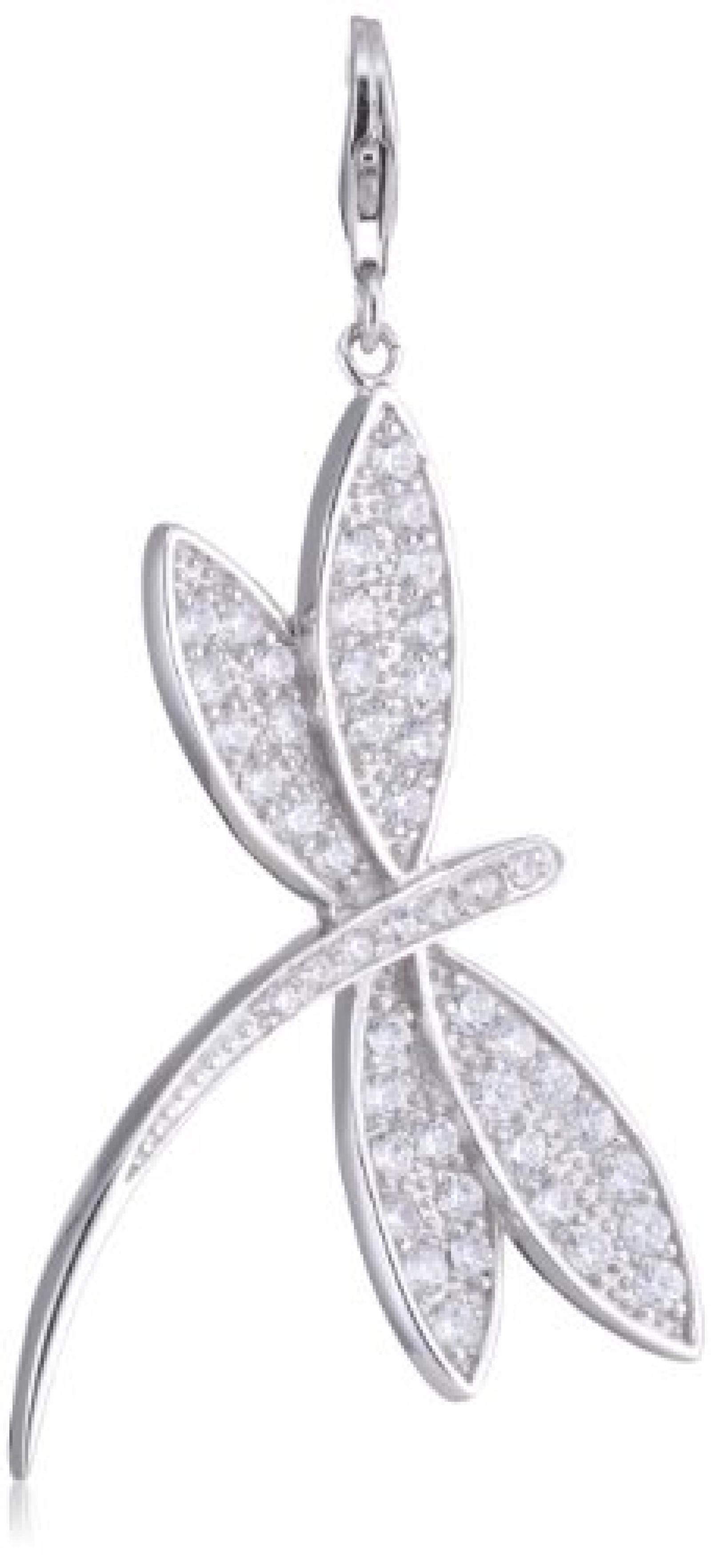 Amor Damen- Libelle-XL Charm 925 Sterlingsilber 353830