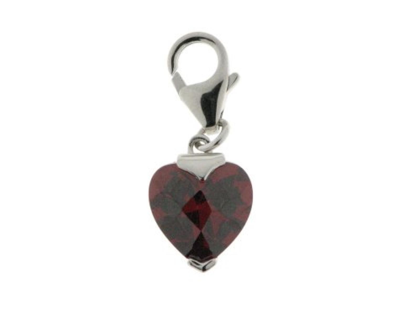 ZEEme Charms-Anhänger Herz 925/- Sterling Silber 360240555-1