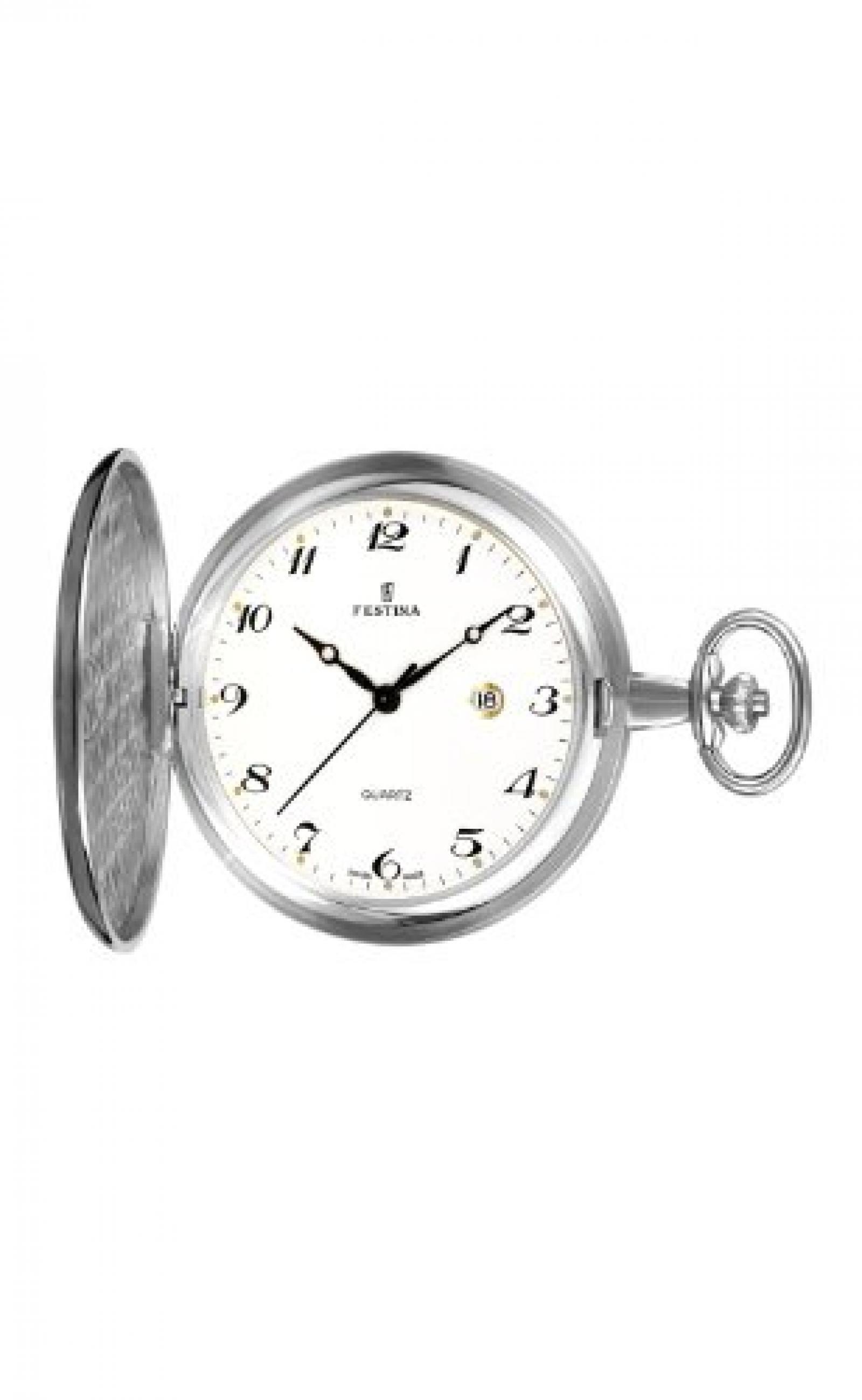Festina Herren-Armbanduhr XL Klassik Taschenuhren Analog Edelstahl F2014/1