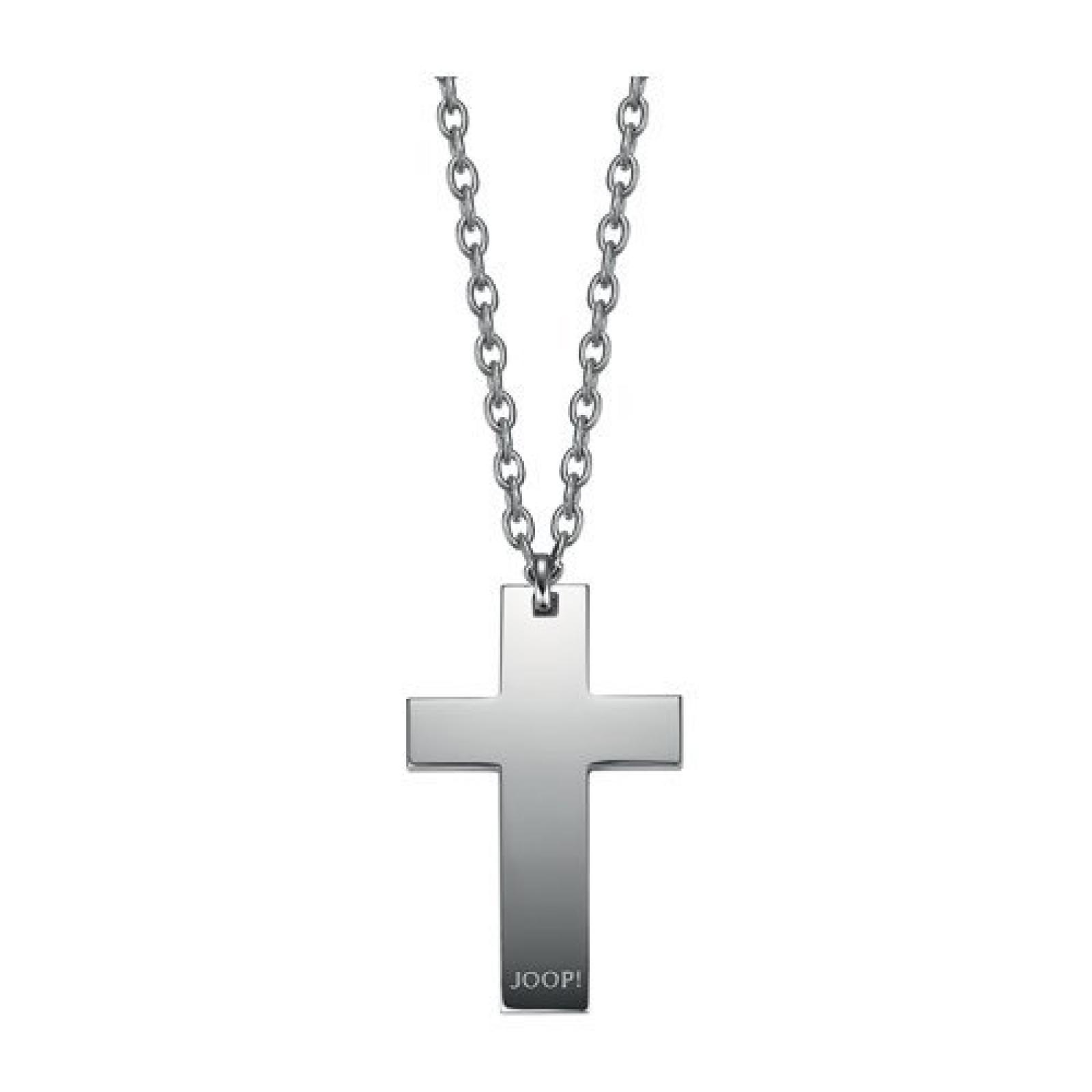 Joop Halskette JPNL10561A670 Herren Collier Kreuz cross Edelstahl 67 cm