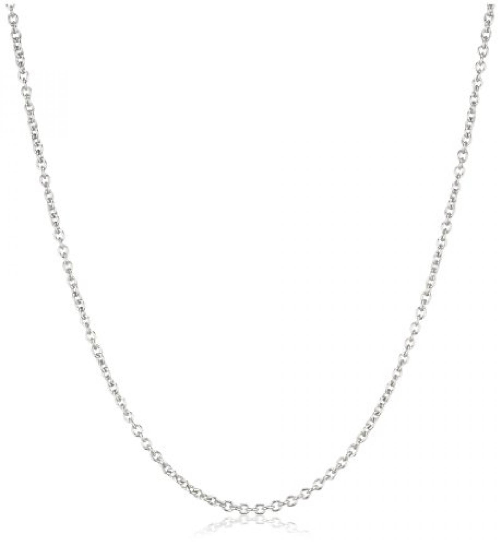 Dyrberg/Kern Damen-Halskette Priam 40 Shiny Silber 332371