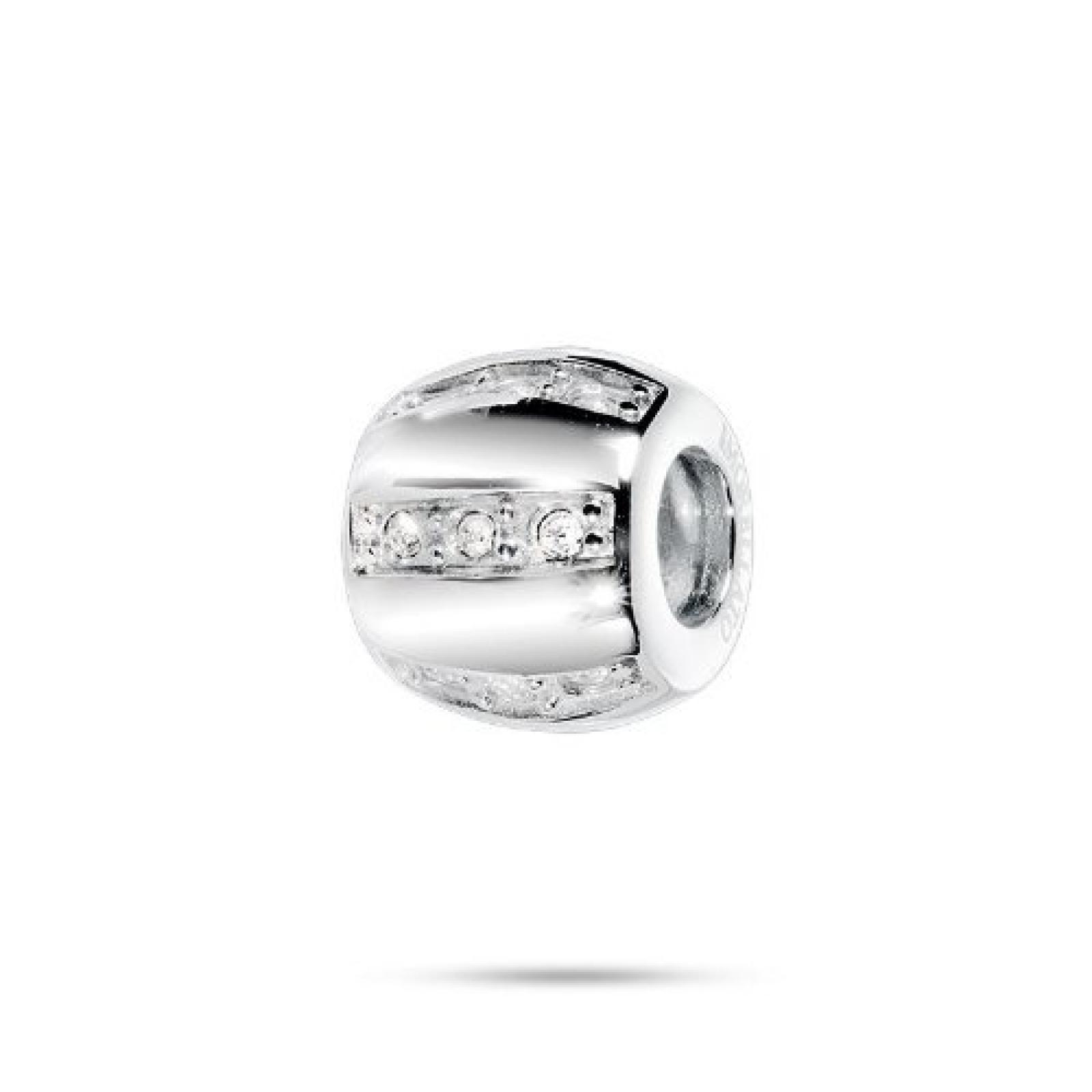 Morellato Unisex-Bead Jewels weiße Kristalle SCZJ4