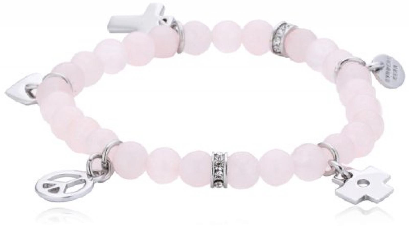 Dyrberg/Kern Damen Armband Edelstahl pink 335391