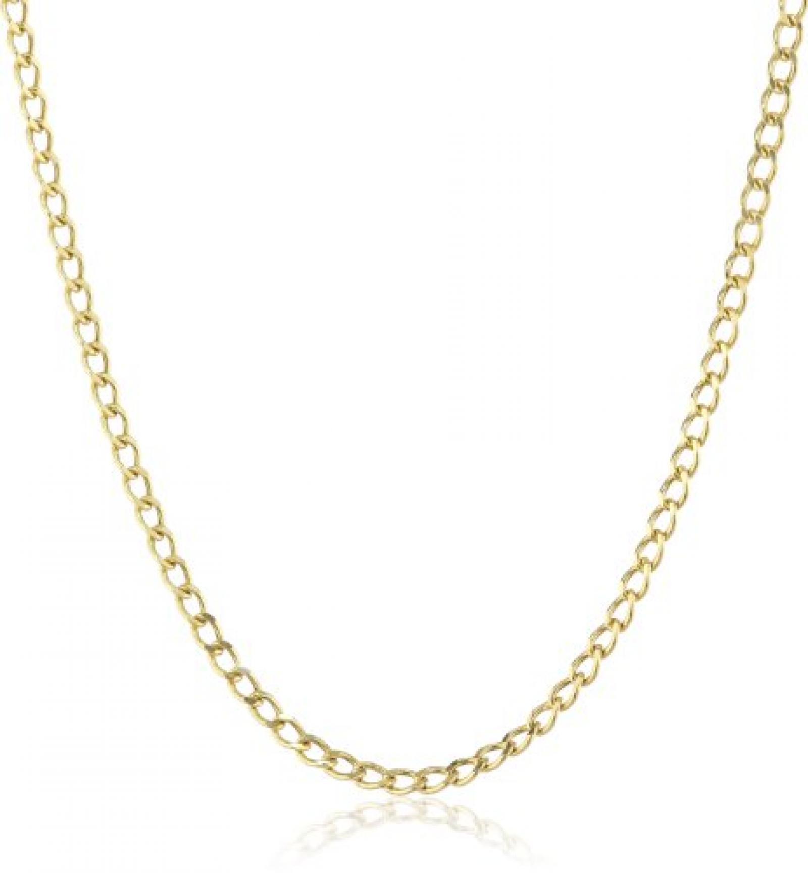 Amor Jewelry Unisex-Halskette 9 Karat 375 Gelbgold 345088