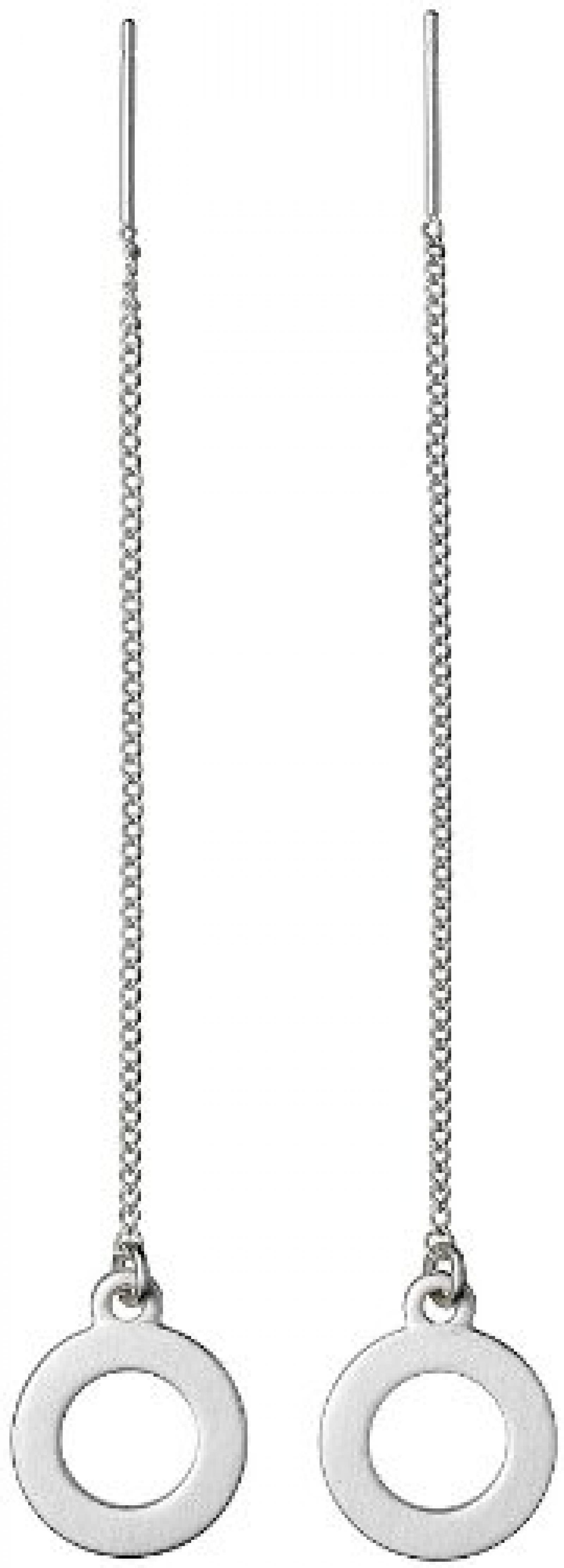 Pilgrim Jewelry Damen-Ohrhänger Metall 7 cm 901326053