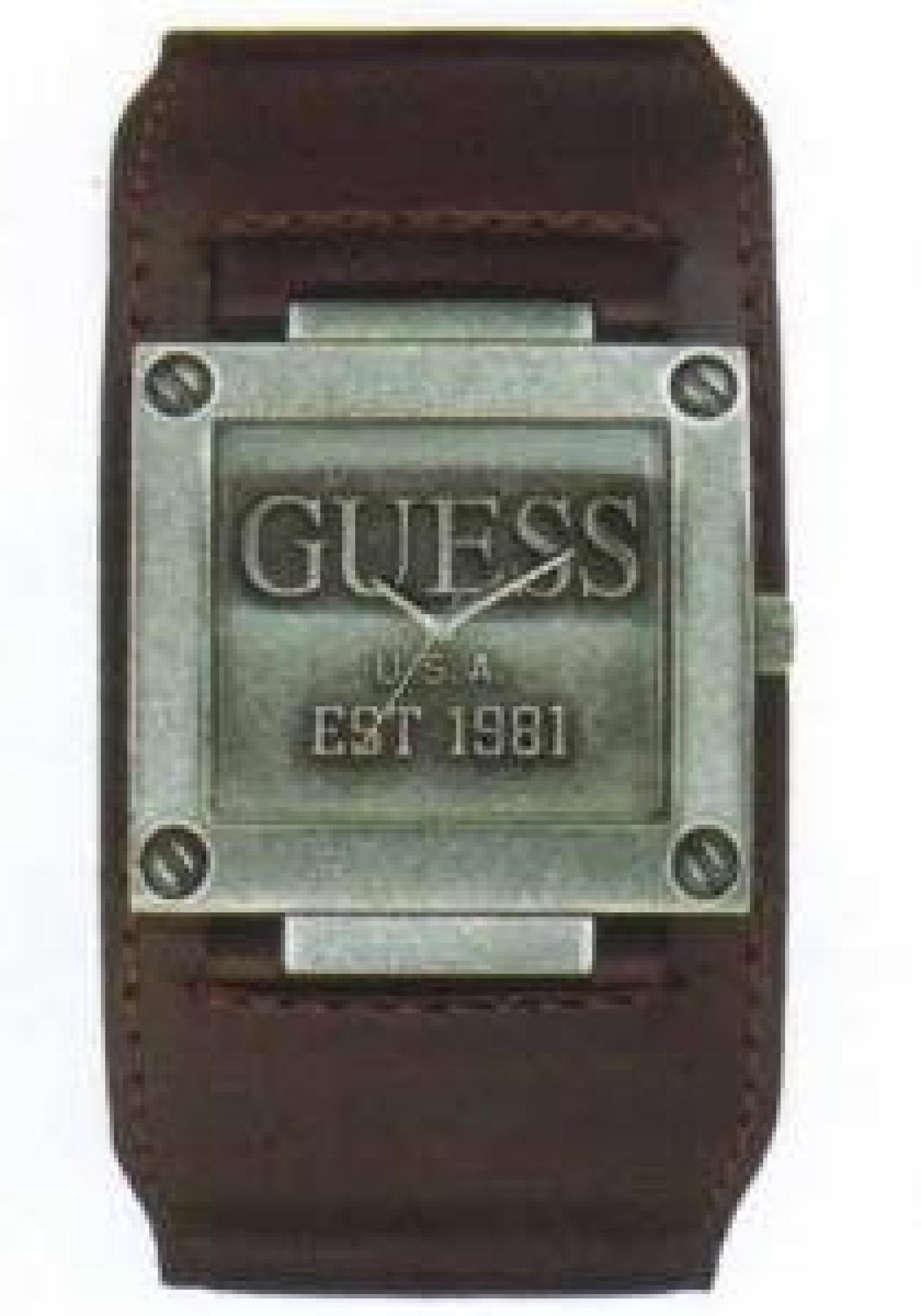 Guess Herren Armbanduhr  Est.1981 W90025G1