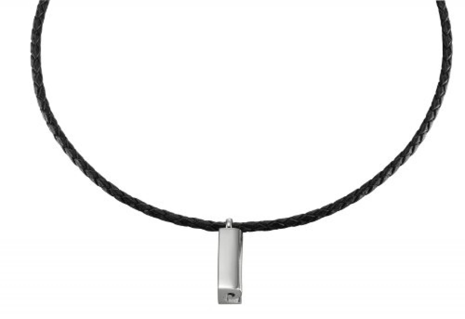 Pierre Cardin Unisex-Halsschmuck Bâton Sterling-Silber 925 50 Cm PCNL-90406.A.50