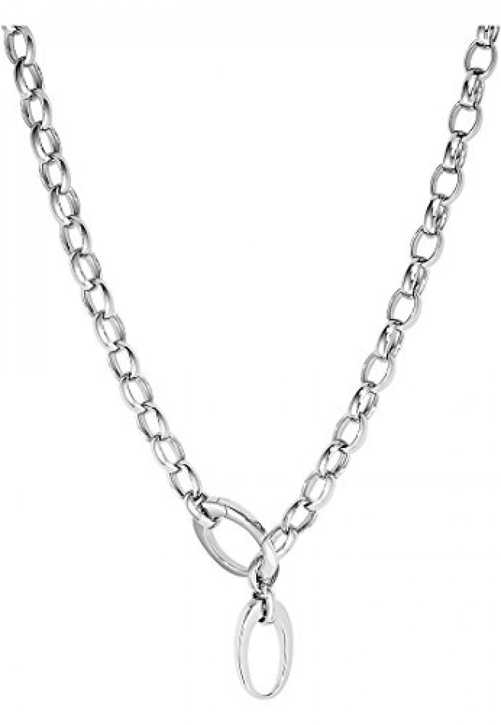 JETTE Silver Damen-Collier 925er Silber rhodiniert silber, One Size