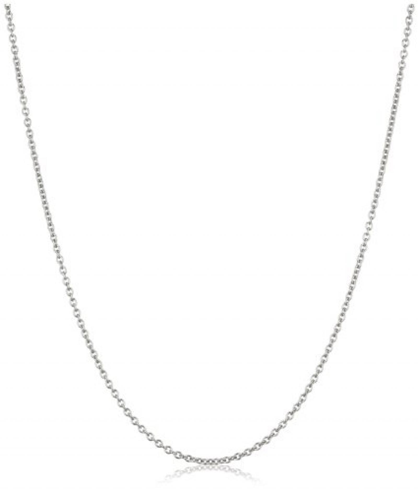 Dyrberg/Kern Damen-Halskette Priam 90 Shiny Silber 332374