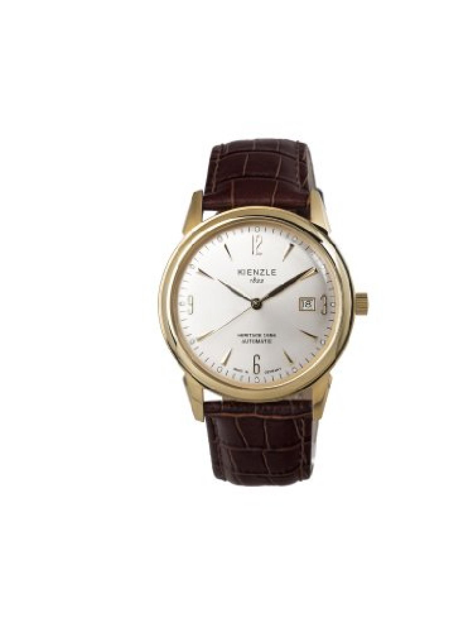 Kienzle Damen-Armbanduhr XS KIENZLE 1822 Automatik - Heritage 1956 Analog Automatik Lederarmband  Made in Germany K9112021041-00342