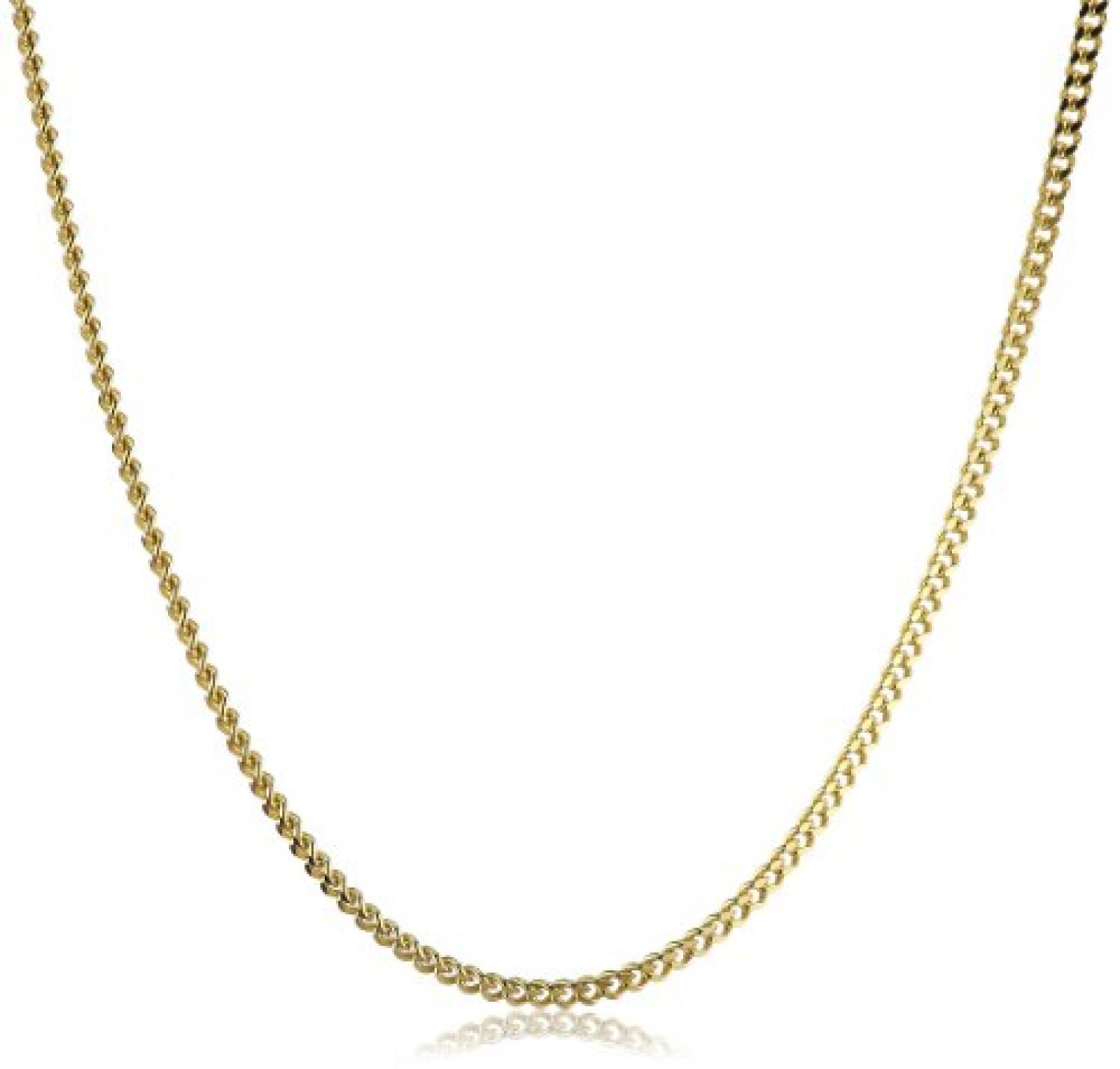 Amor Jewelry Unisex-Halskette 8 Karat 333 Gelbgold 74391