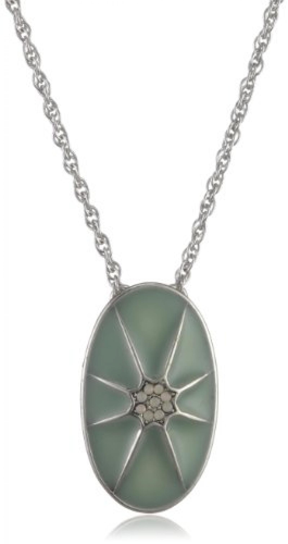 Pilgrim Damen-Halskette aus der Serie Sunset Versilbert Mint 38 cm 18122-6401