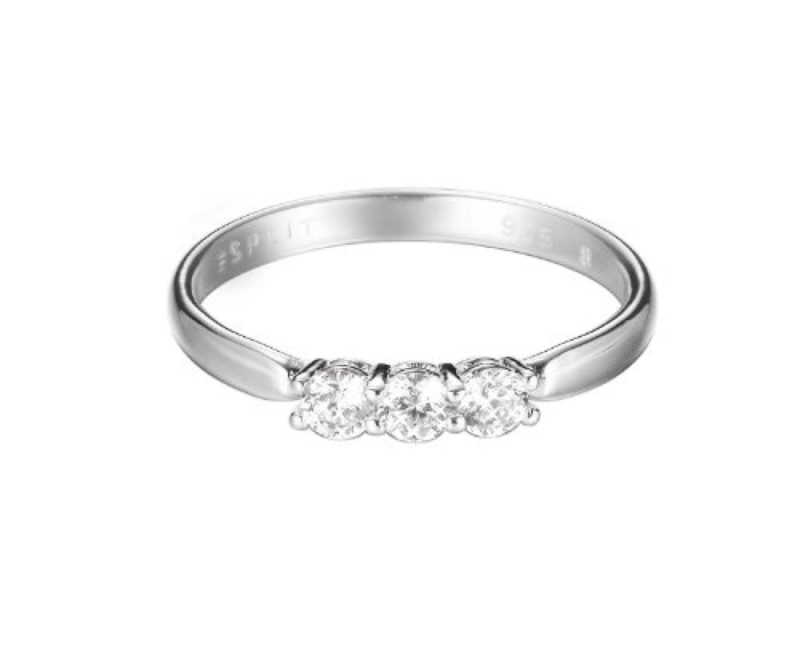 Esprit Damen-Ring 925 Sterling Silber ESRG92364A1