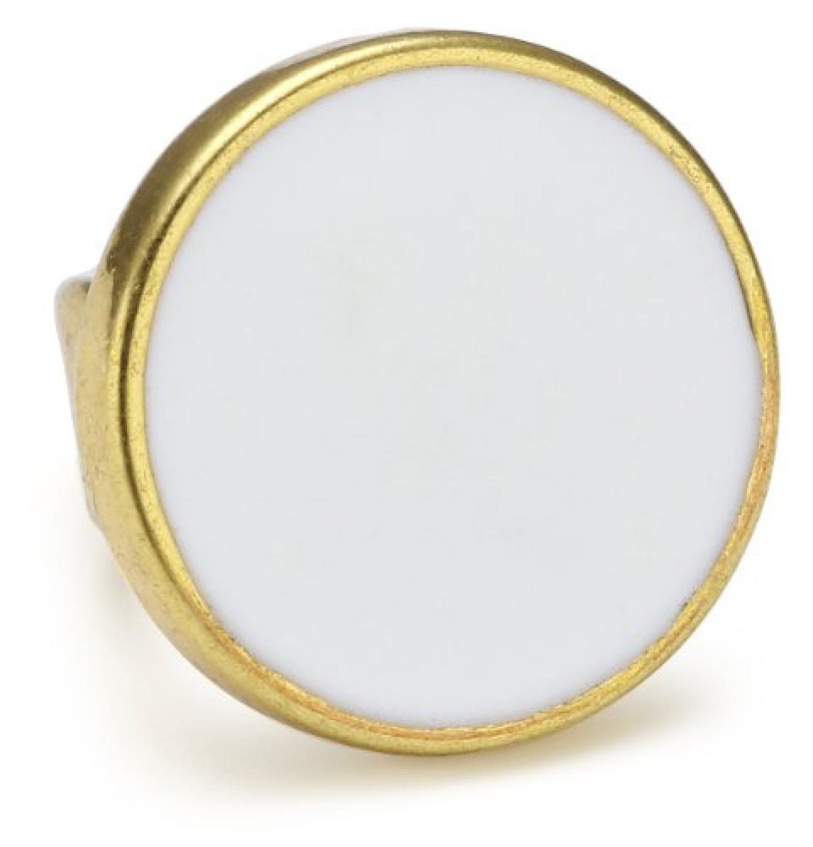 Pilgrim Damen-Anhänger Charming vergoldet weiss 42121-2050