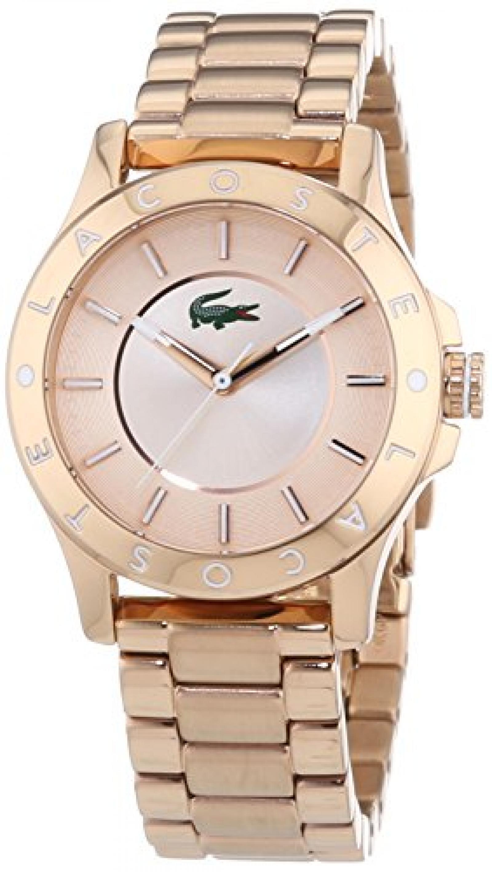 Lacoste Damen-Armbanduhr XS MADEIRA Analog Quarz Edelstahl beschichtet 2000851