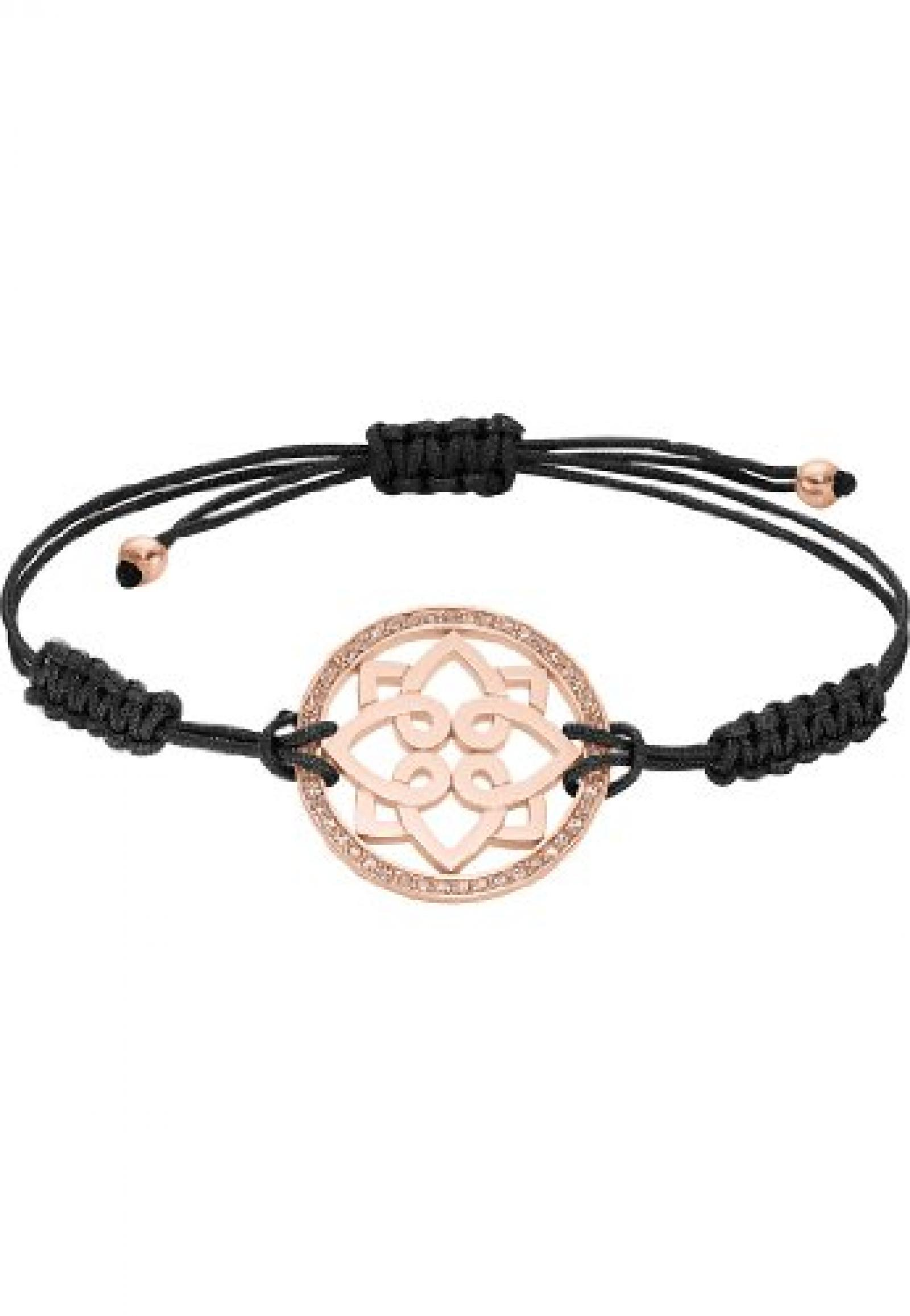JETTE Magic Passion Damen-Armband CHAKRA Metall 47 Kristalle rosé, One Size