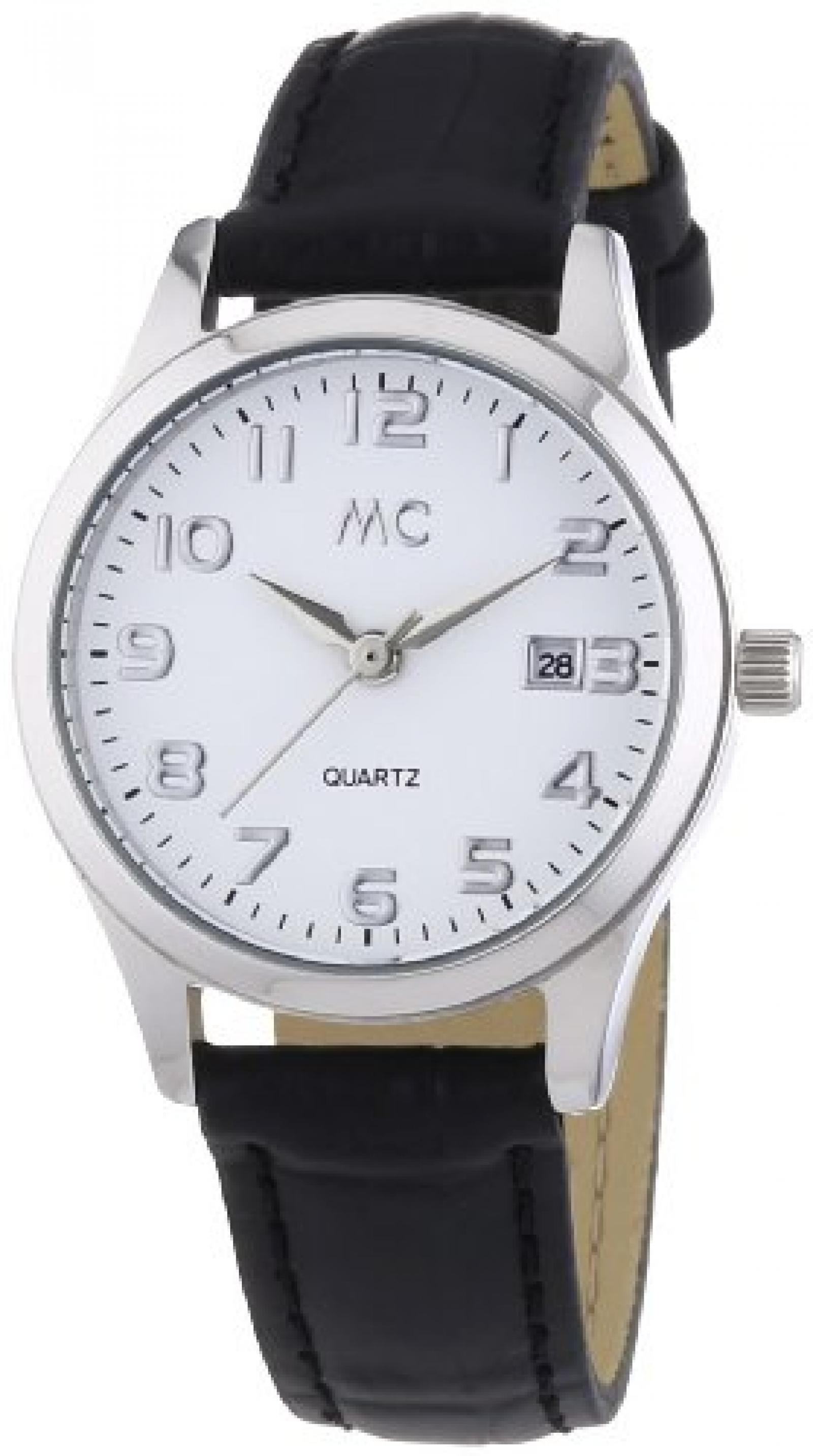 MC Timetrend Damen-Armbanduhr Analog Quarz Leder 51267