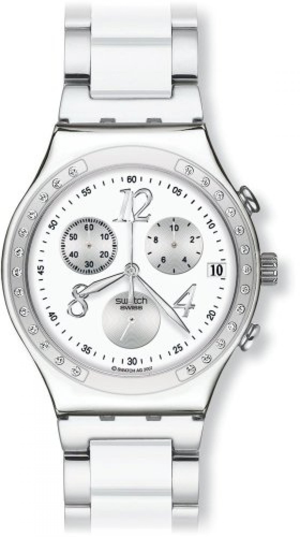 Swatch Damen-Armbanduhr Core Collection Dreamwhite YCS511G
