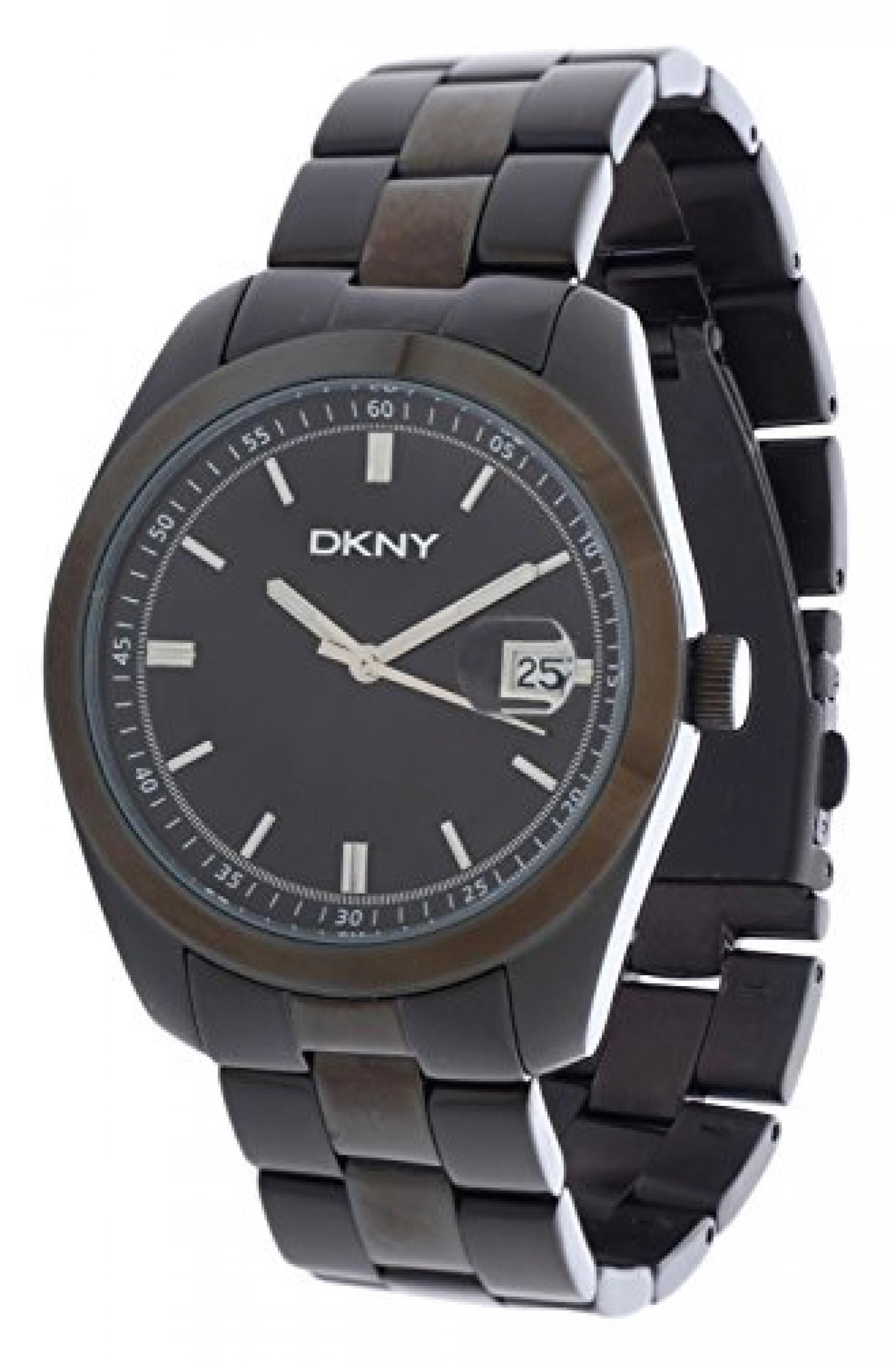 DKNY Herren Armbanduhr Essentials Schwarz NY1270