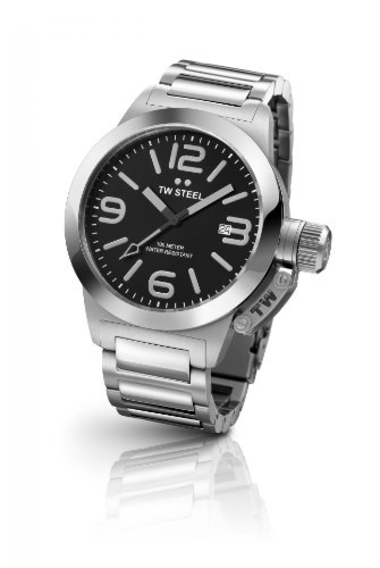 TW Steel Damen-Armbanduhr Canteen Style bracelet Analog Quarz Edelstahl TW-300