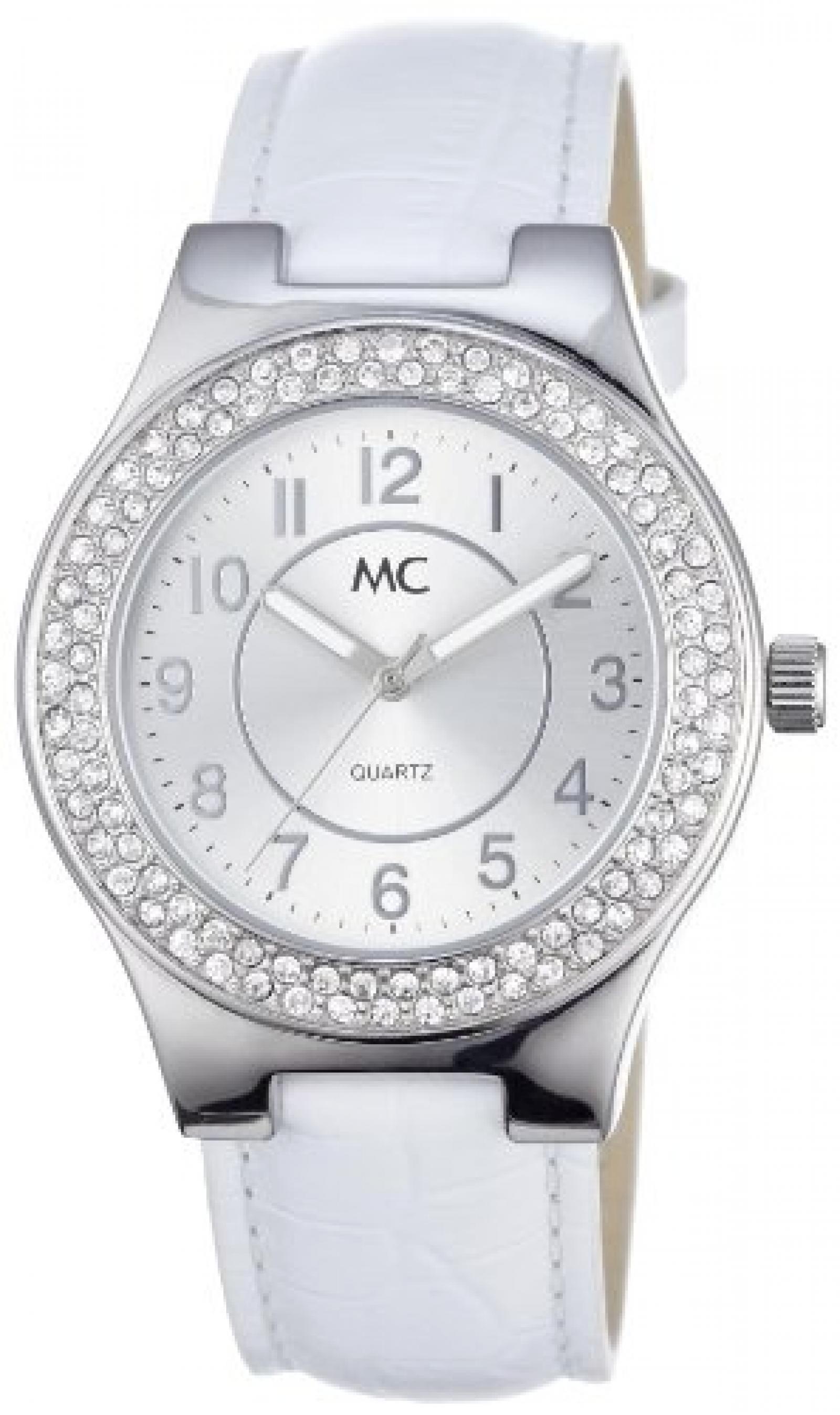 MC Timetrend Damen-Armbanduhr Analog Quarz Leder 50325