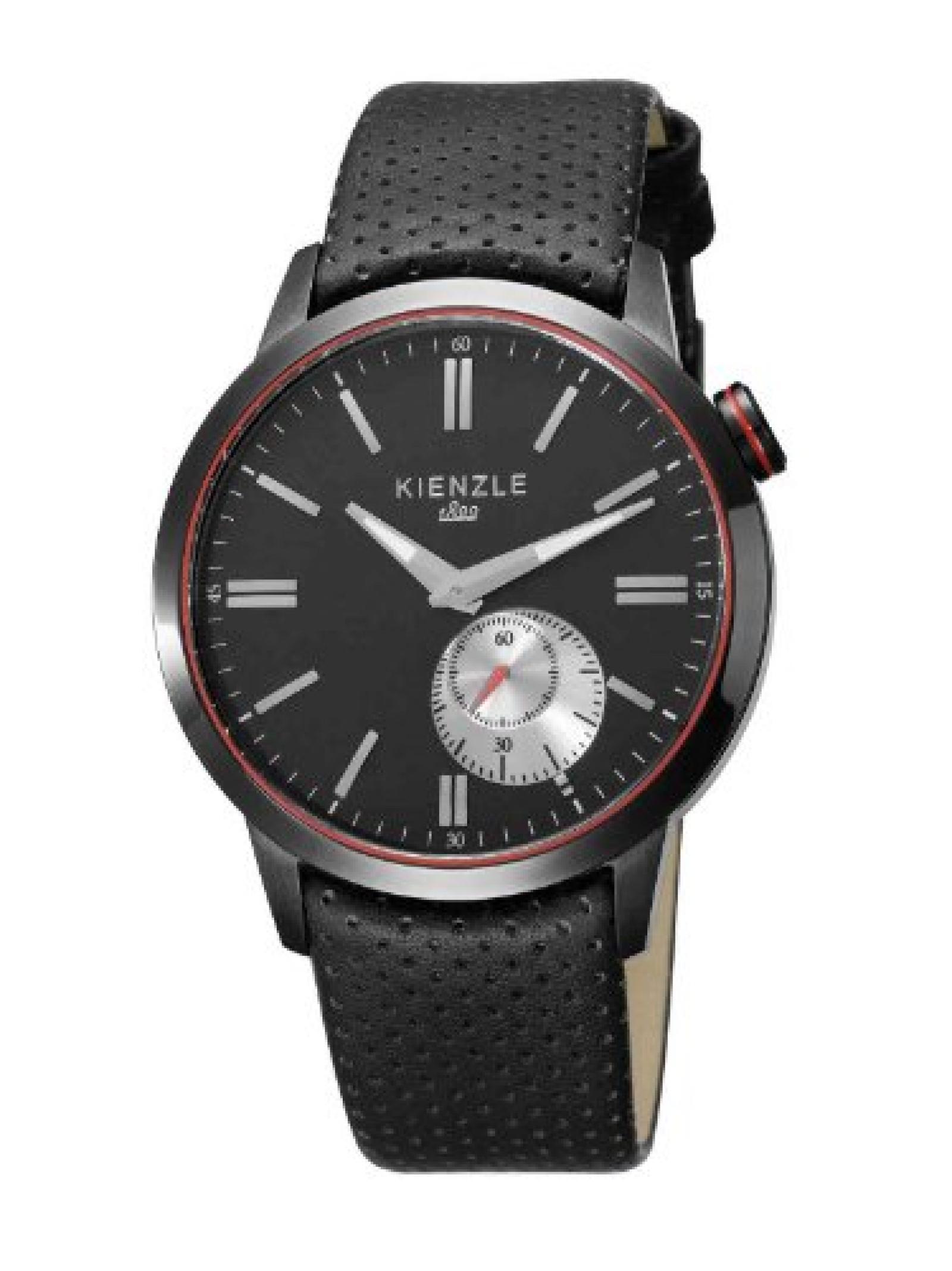 Kienzle Herren-Armbanduhr XL Analog Leder K9031043031