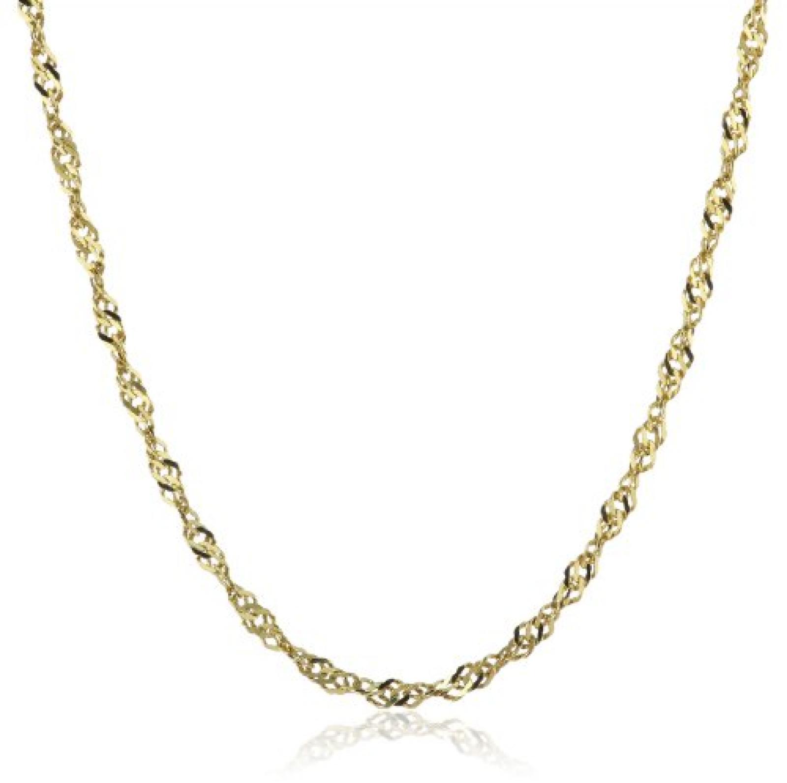 Amor Jewelry Damen-Halskette 8 Karat 333 Gelbgold 368940