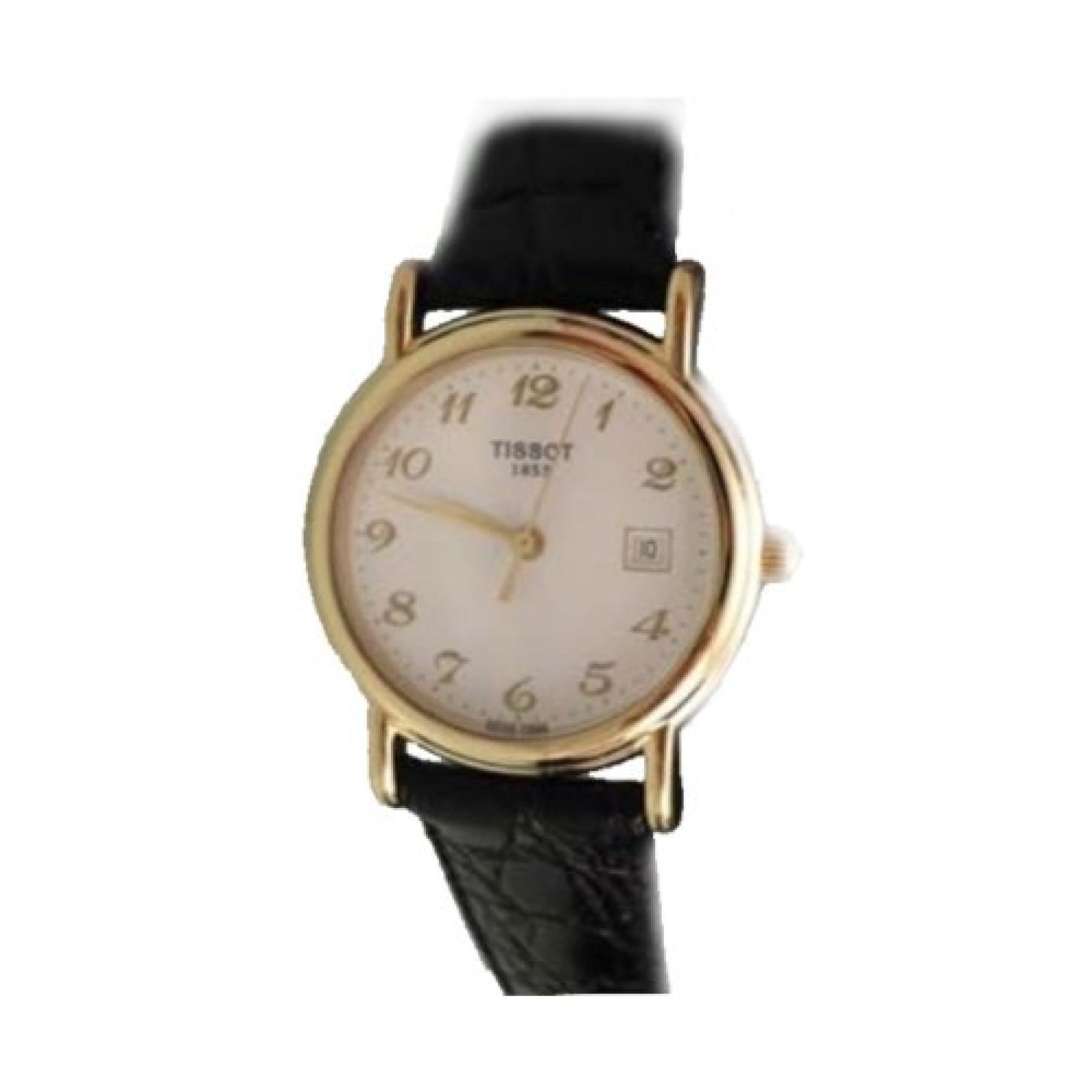 Tissot Damen-Armbanduhr Gold Carson T71312912
