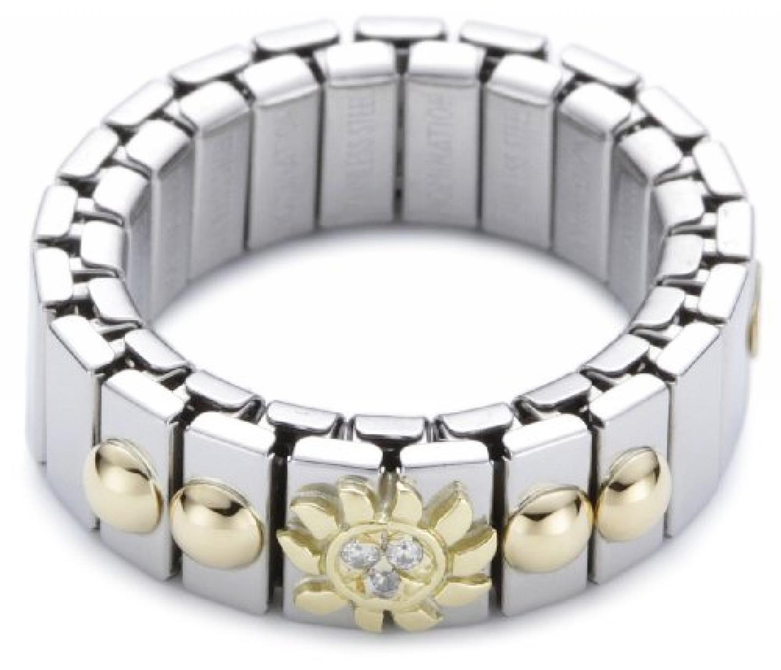 Nomination Damen-Ring Klein Mit Sonne Ring größe variabel 040201/028