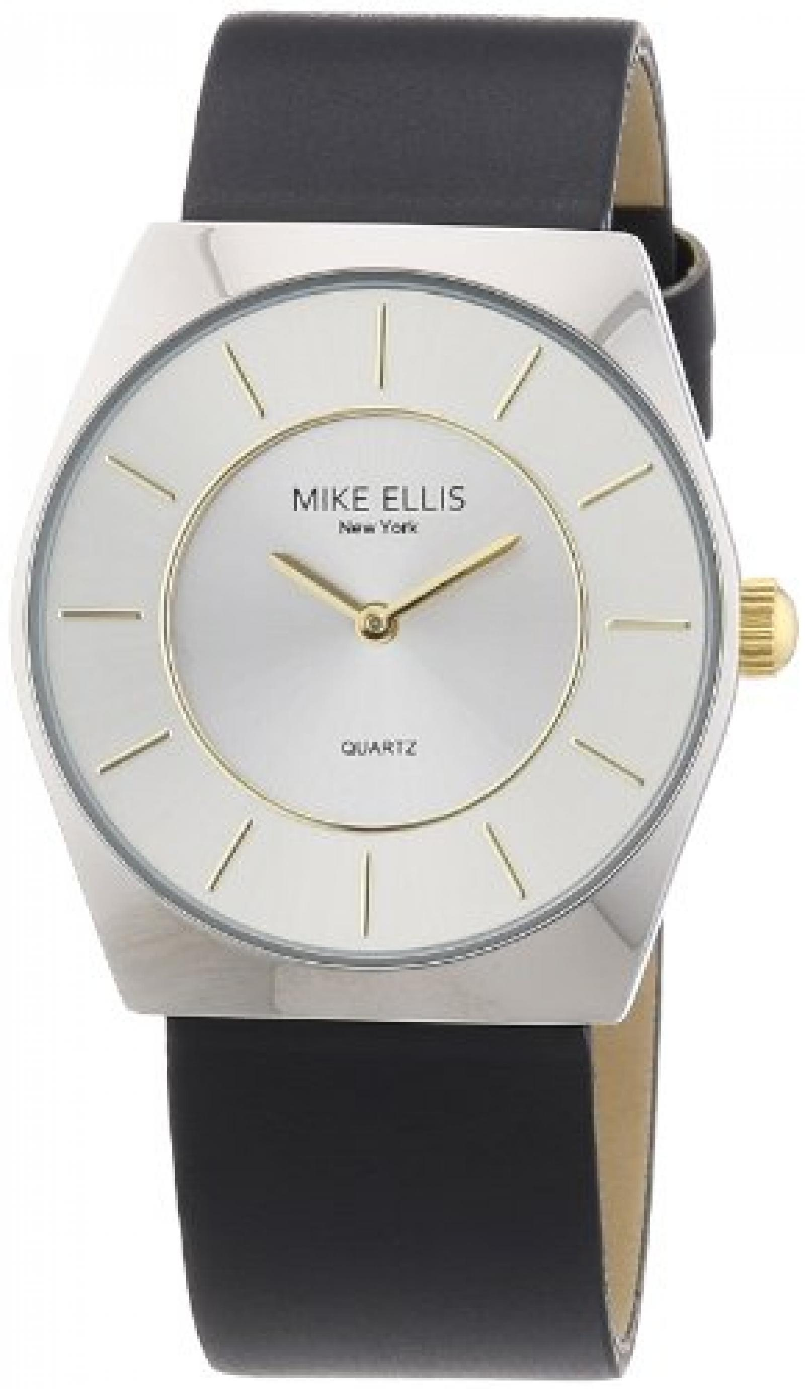 Mike Ellis New York Herren-Armbanduhr XS Analog Quarz Kunstleder M1126ASU/1
