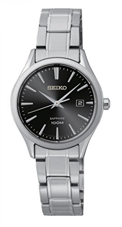 Seiko Damen-Armbanduhr Analog Quarz Edelstahl SXDG19P1