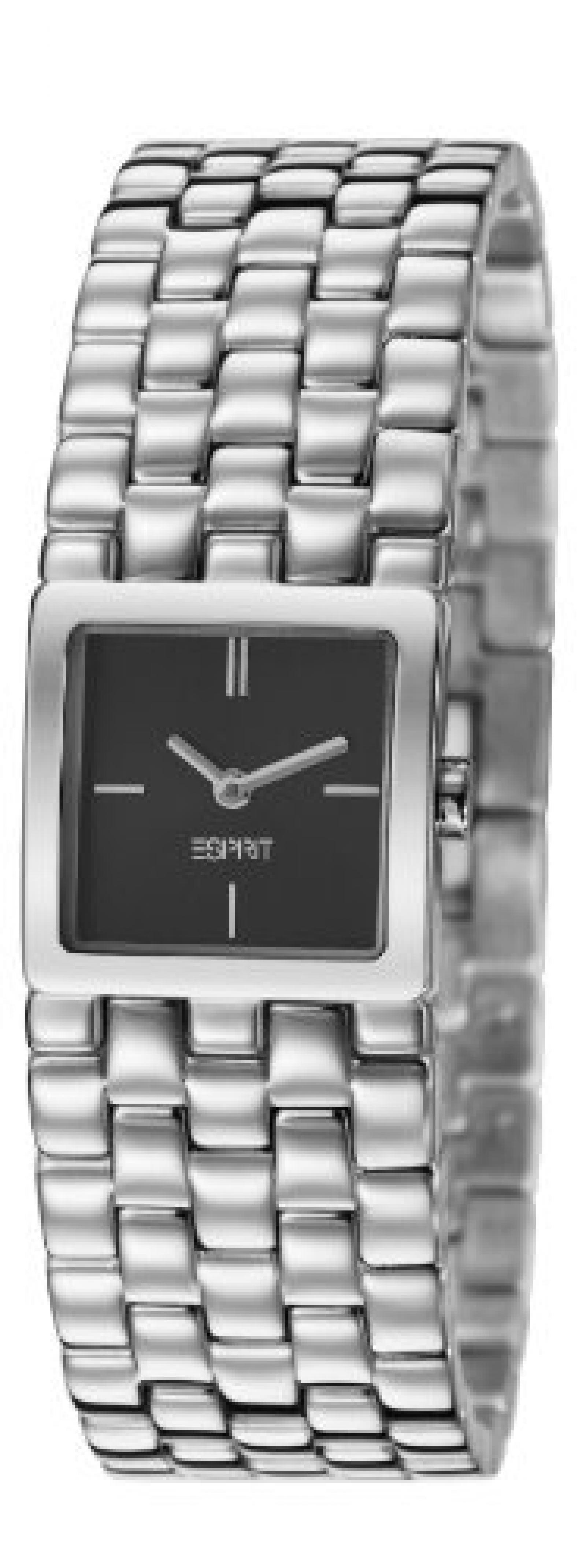Esprit Damen-Armbanduhr lone Analog Quarz Edelstahl ES106102001