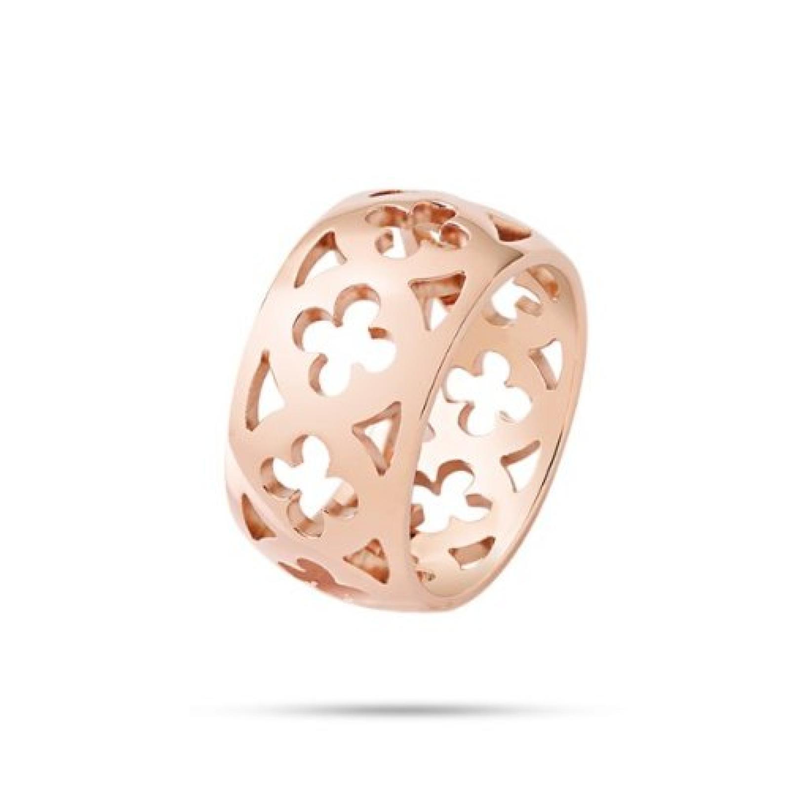 Morellato Damen-Ring Edelstahl Kristall Ducale pink SAAZ04012