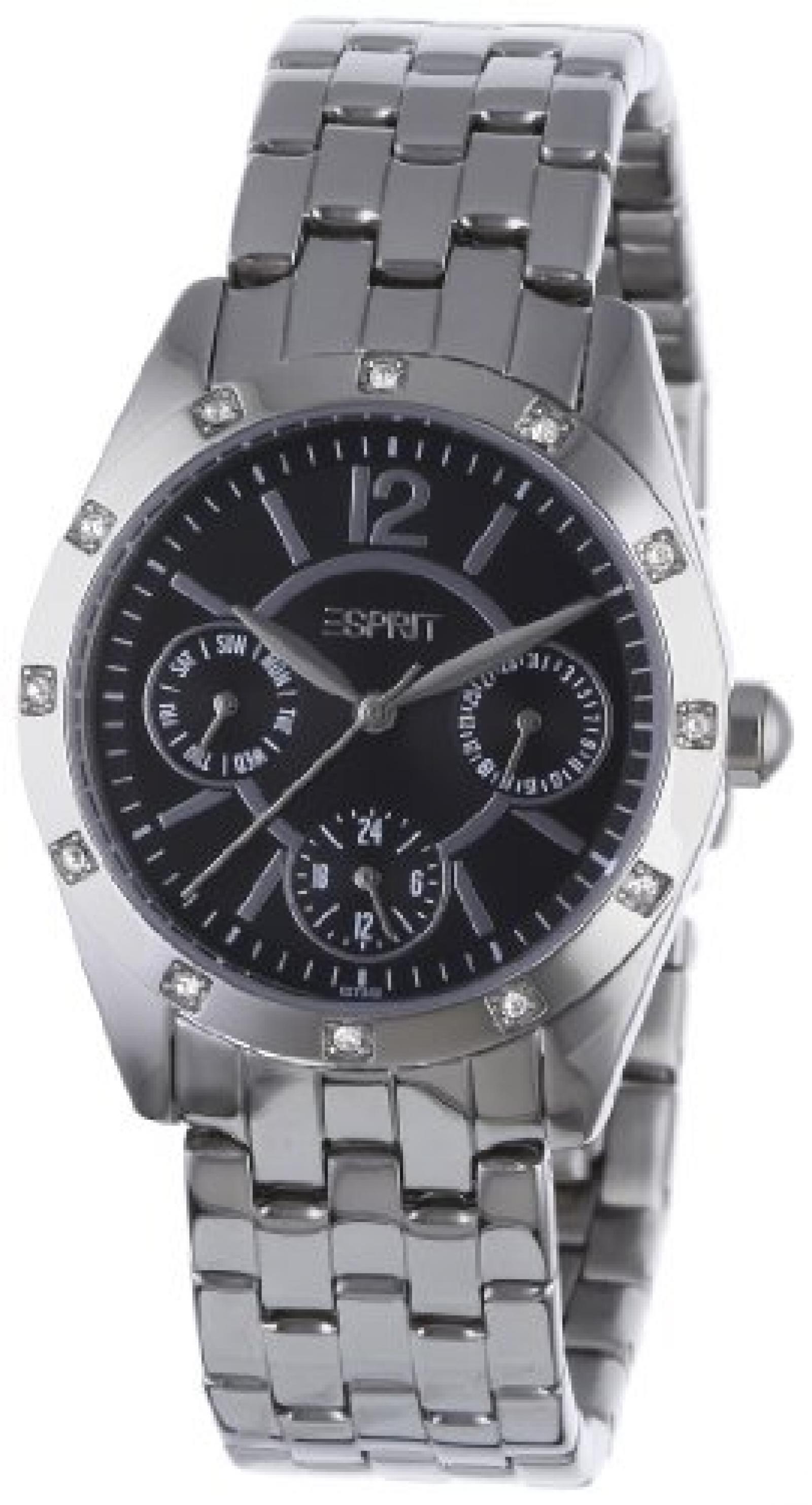 Esprit Damenuhr starglance silver black  A.ES102732002