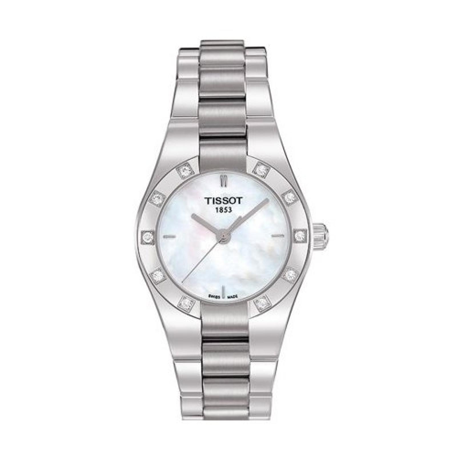Tissot Damen-Armbanduhr GLAMSPORT T0430106111100