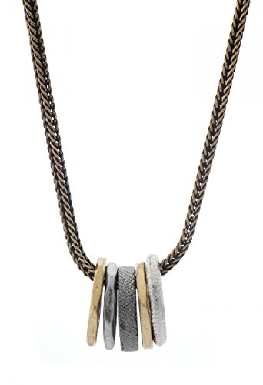 Diesel Damen Halskette Stahl Messing DXM0608040
