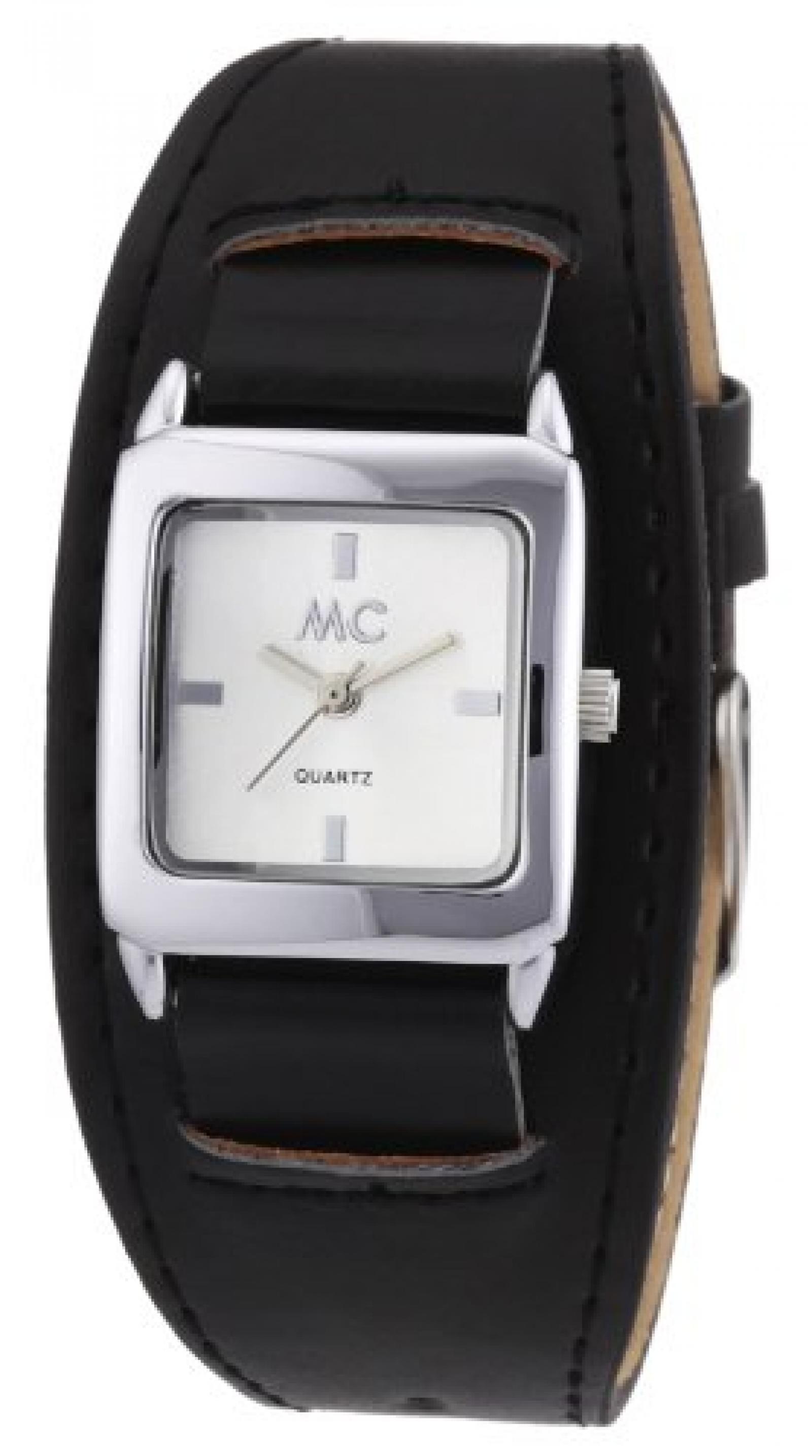 MC Timetrend Damen-Armbanduhr Analog Quarz Kunstleder 50553