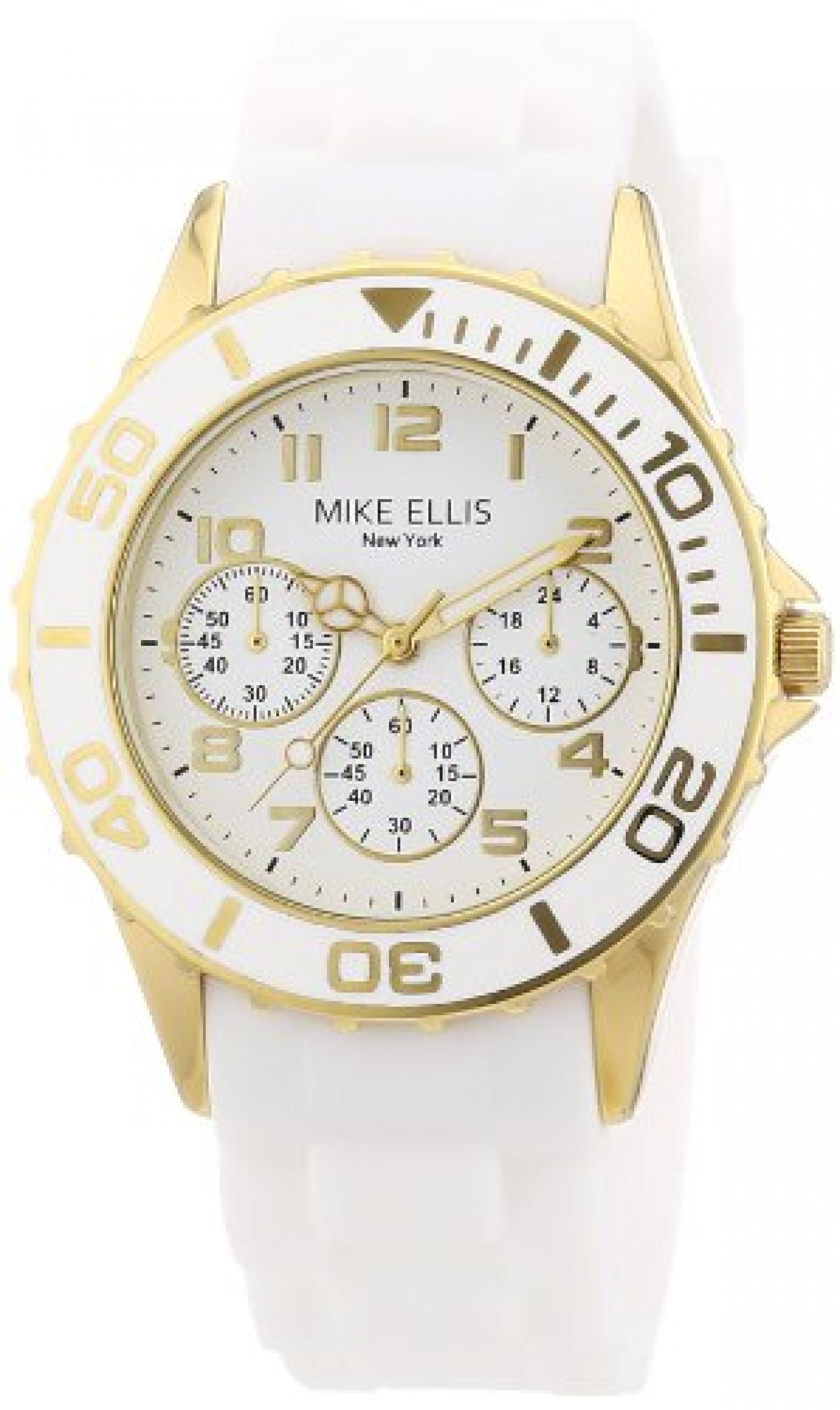 Mike Ellis New York Damen-Armbanduhr XS Analog Quarz S2703AGS
