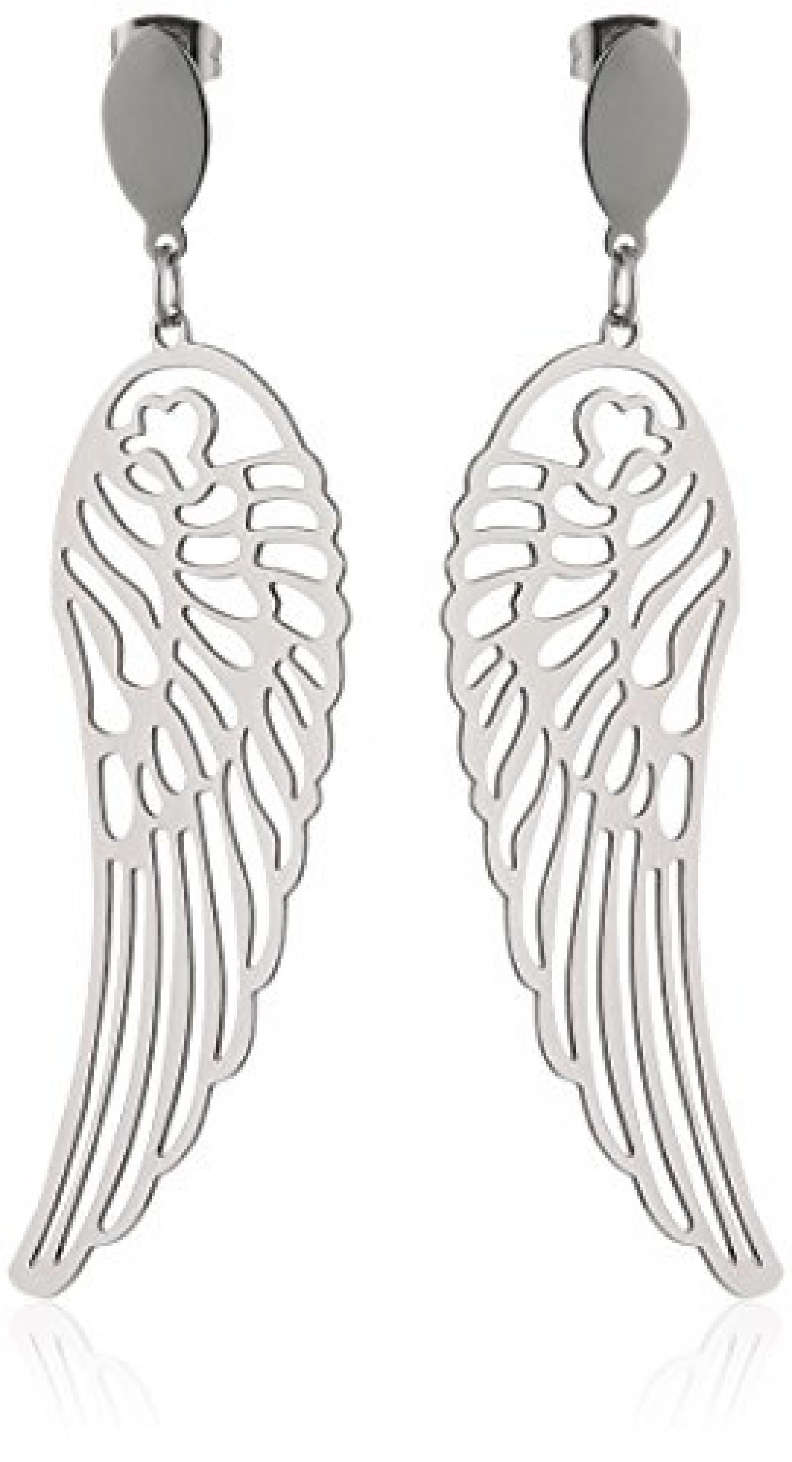 ZEEme Damen-Ohrhänger Motiv Flügel 389020004