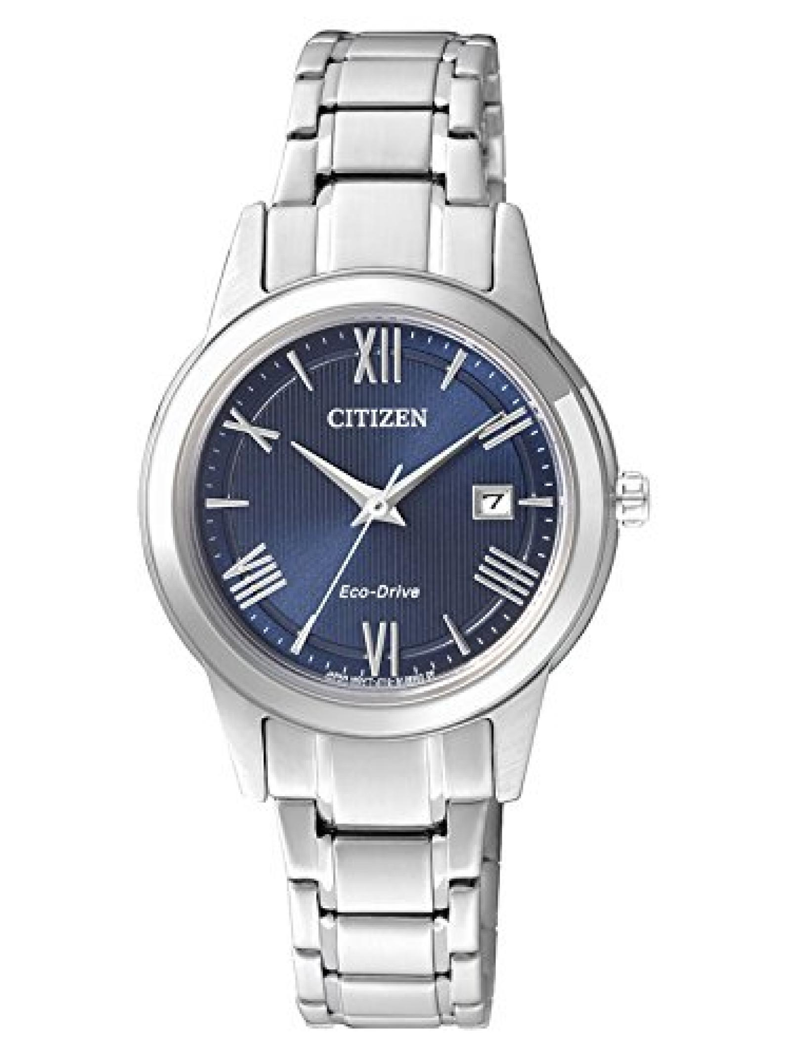 Citizen Damen-Armbanduhr XS Analog Quarz Edelstahl FE1081-59L