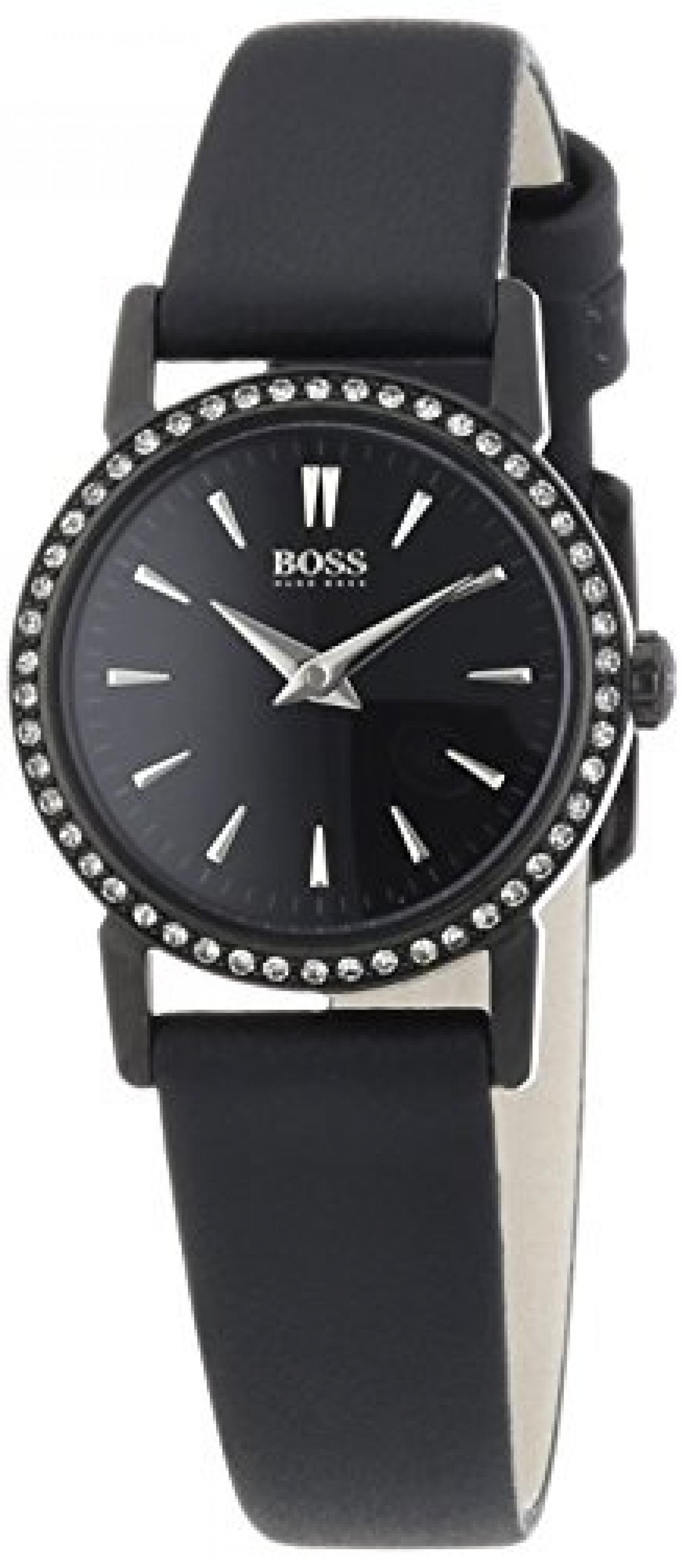 Hugo Boss Damen-Armbanduhr XS SLIM ULTRA MINI Analog Quarz Leder 1502357