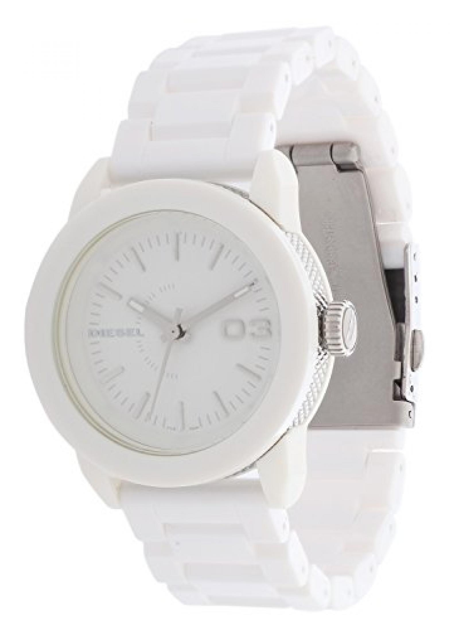Diesel Damen Armbanduhr Franchise Weiß DZ5262